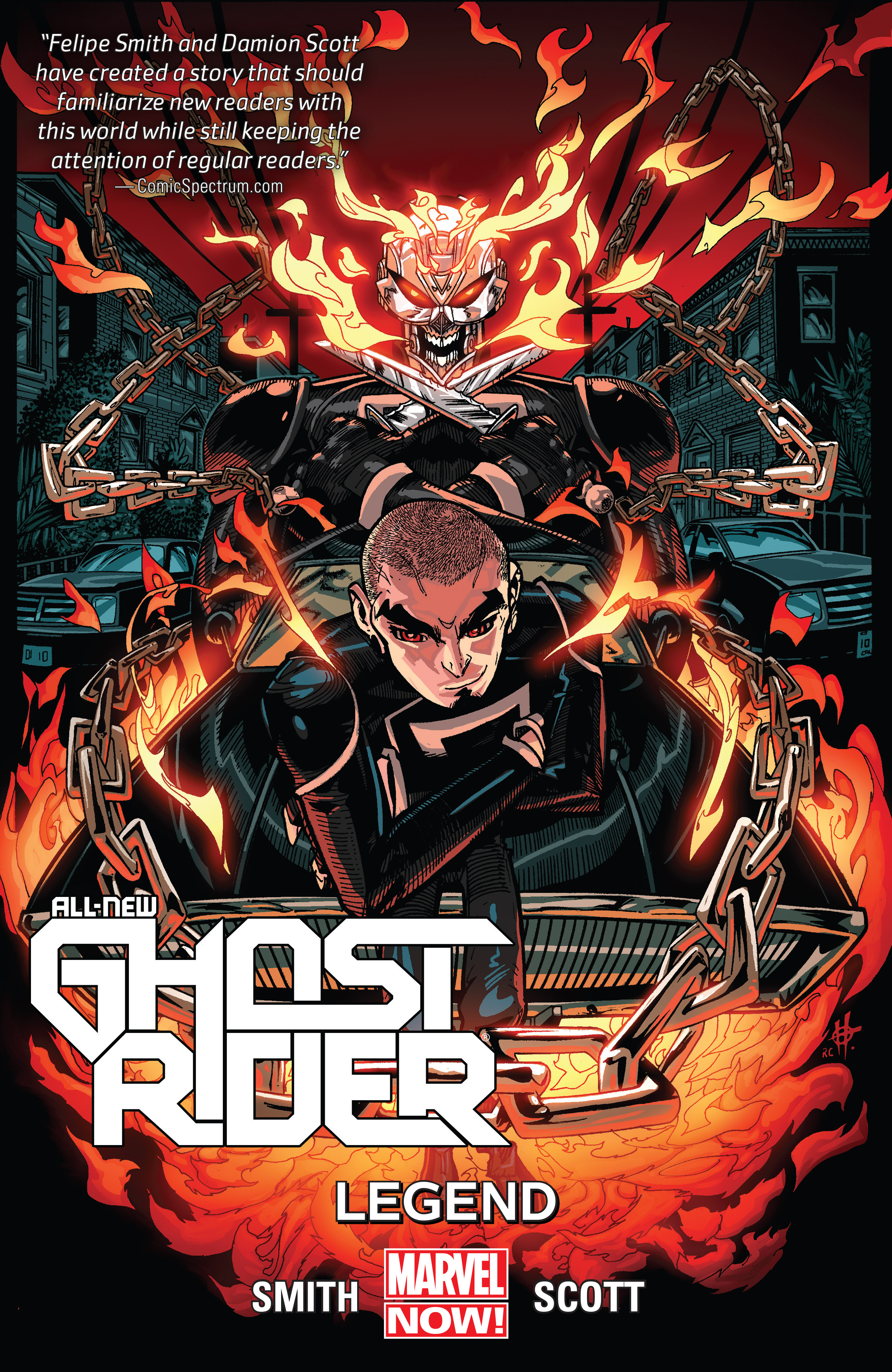 All-New Ghost Rider Vol. 2: Legend [electronic resource]