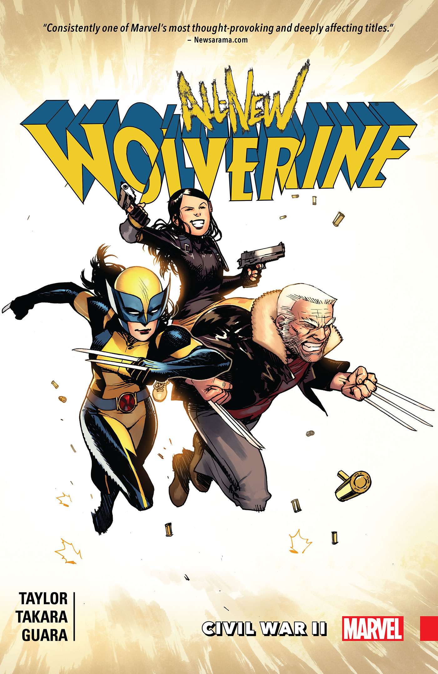 All-New Wolverine Vol. 2: Civil War Ii [electronic resource]