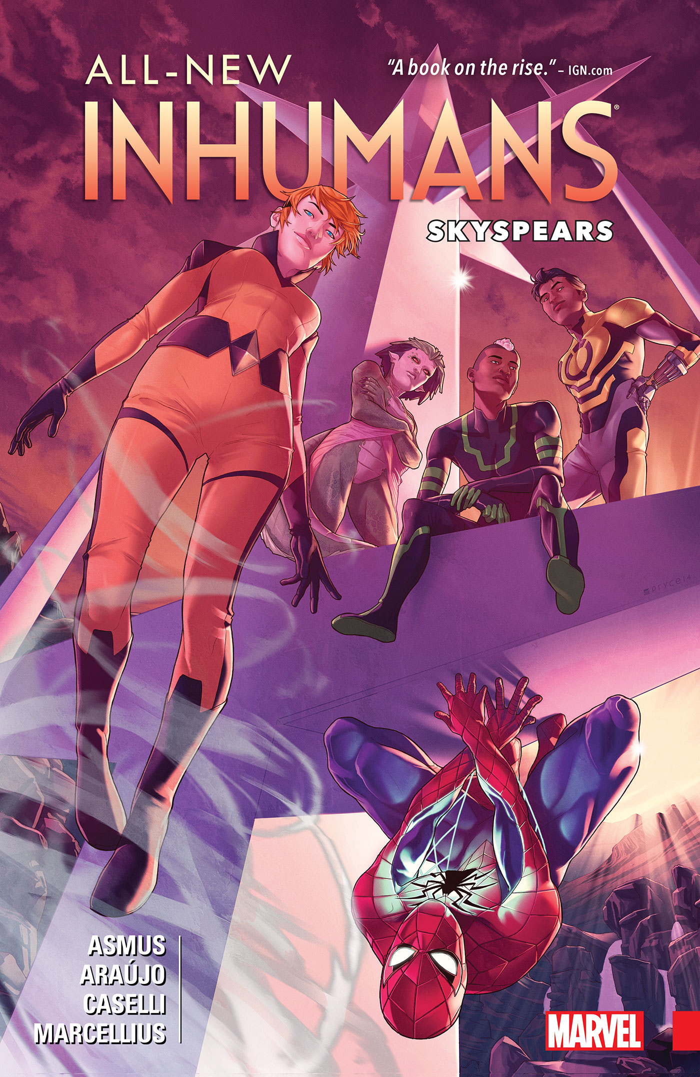 All-New Inhumans Vol. 2: Skyspears [electronic resource]