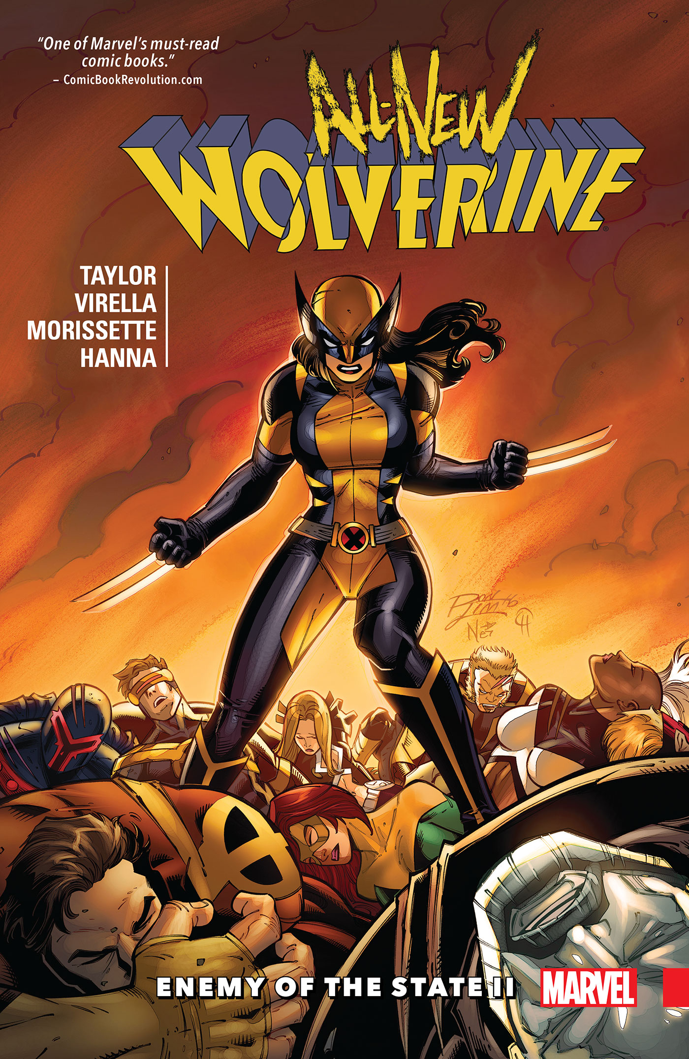 All-New Wolverine Vol. 3: Enemy Of The State Ii [electronic resource]