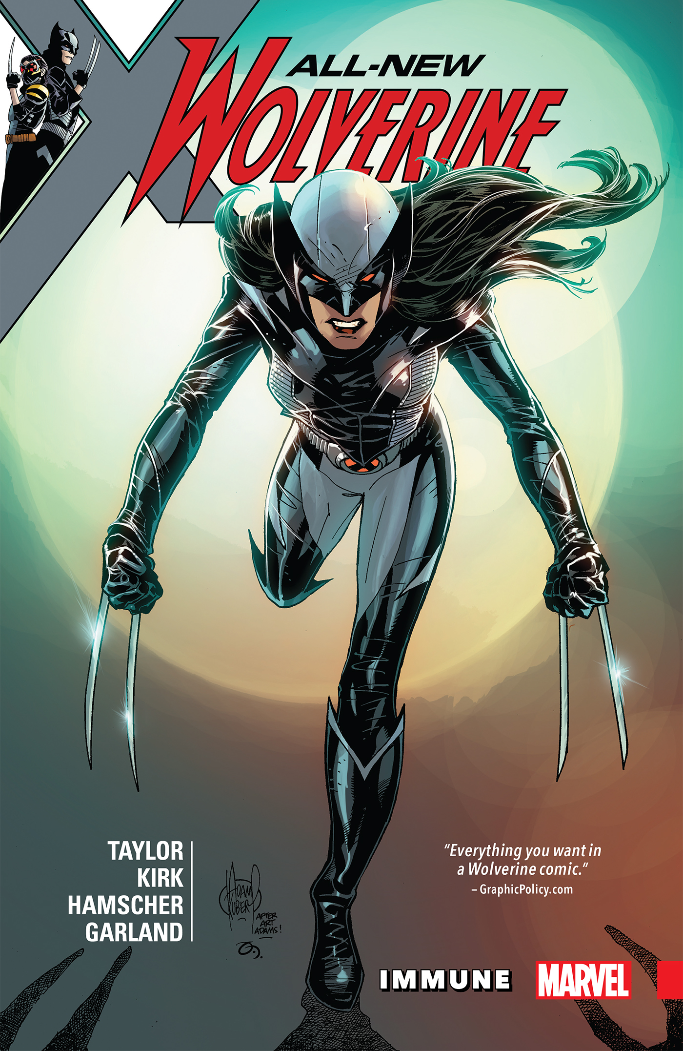 All-New Wolverine Vol. 4: Immune [electronic resource]