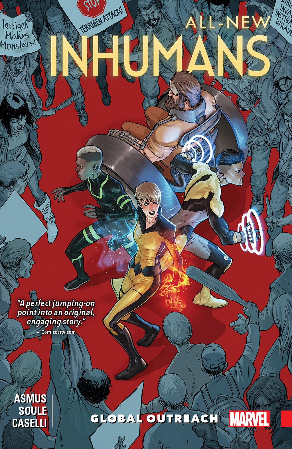 All-New Inhumans Vol. 1: Global Outreach [electronic resource]