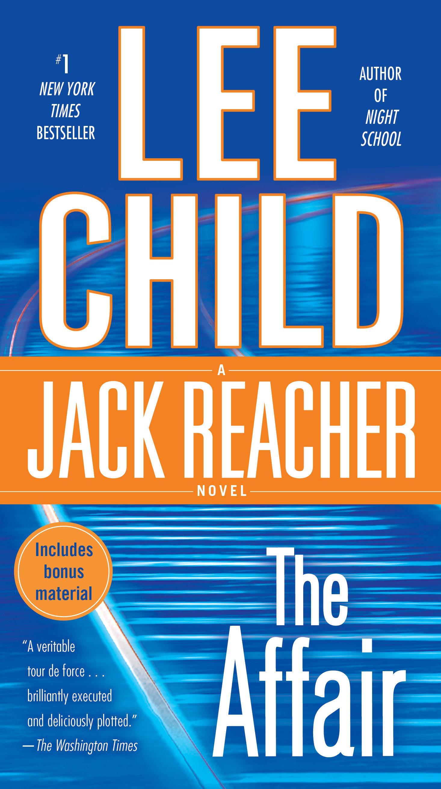 The Affair A Jack Reacher Novel