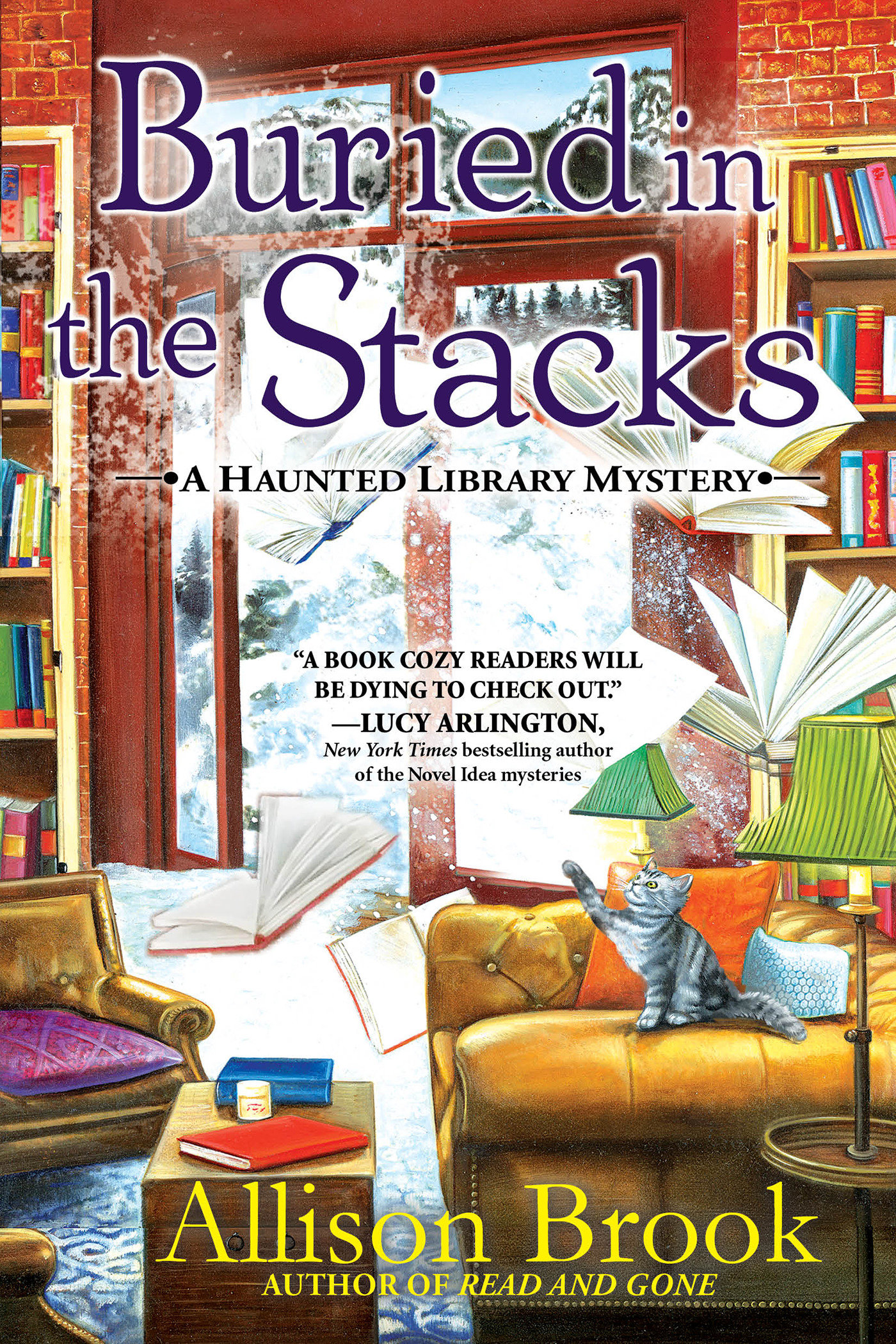 Buried in the stacks [electronic resource (downloadable eBook)] : a haunted library mystery