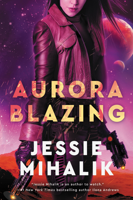 Aurora Blazing A Novel