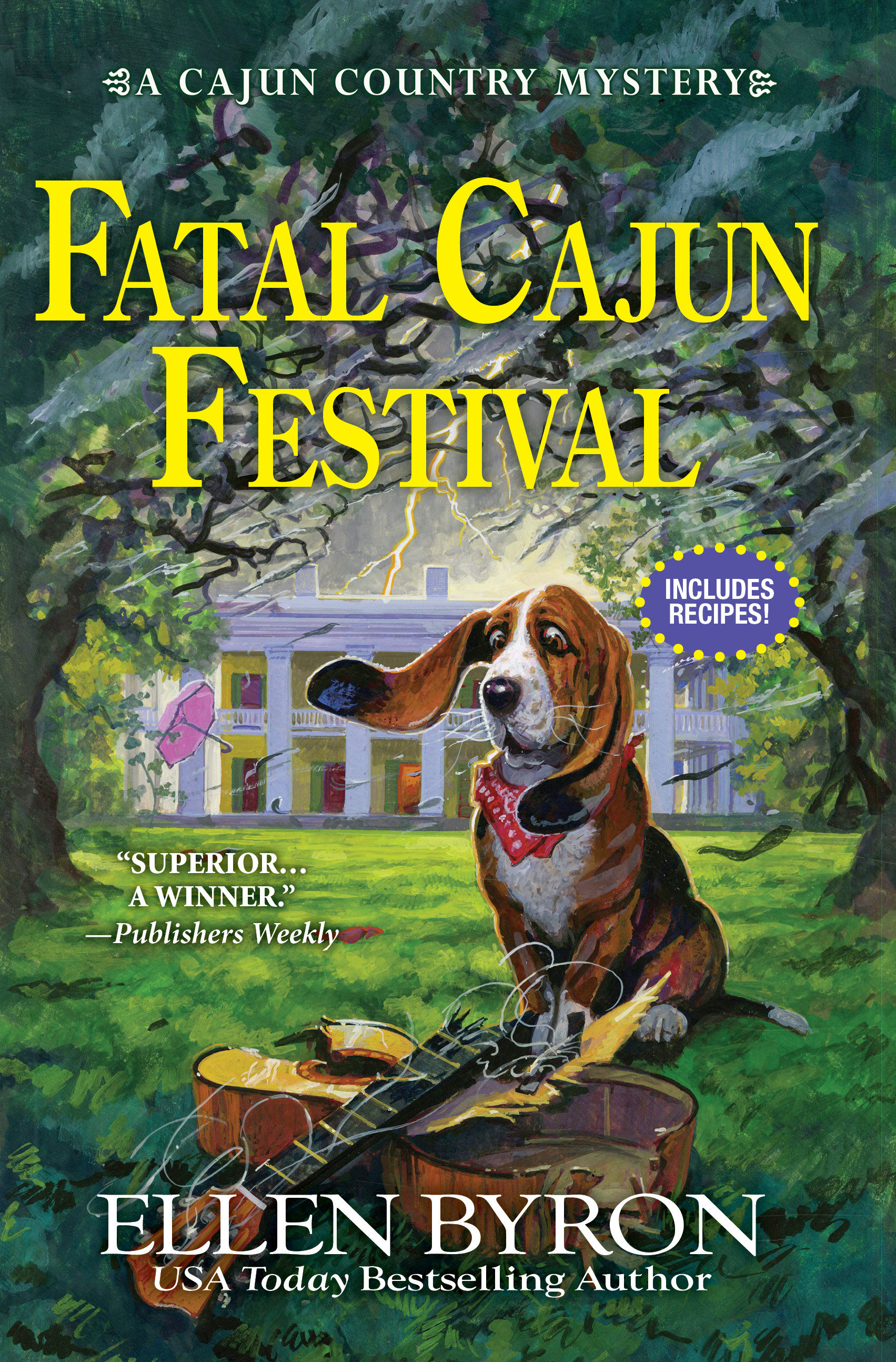 Fatal Cajun festival [electronic resource (downloadable eBook)] : a Cajun Country mystery