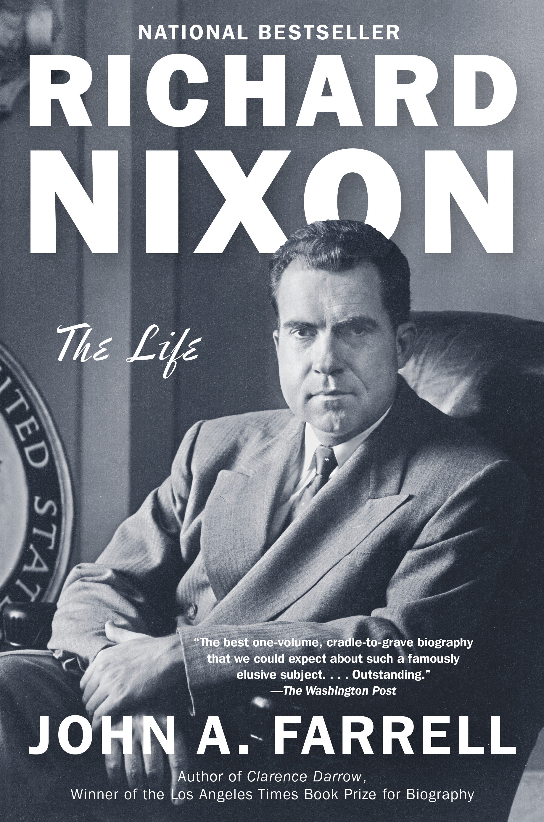 Richard Nixon the life cover image