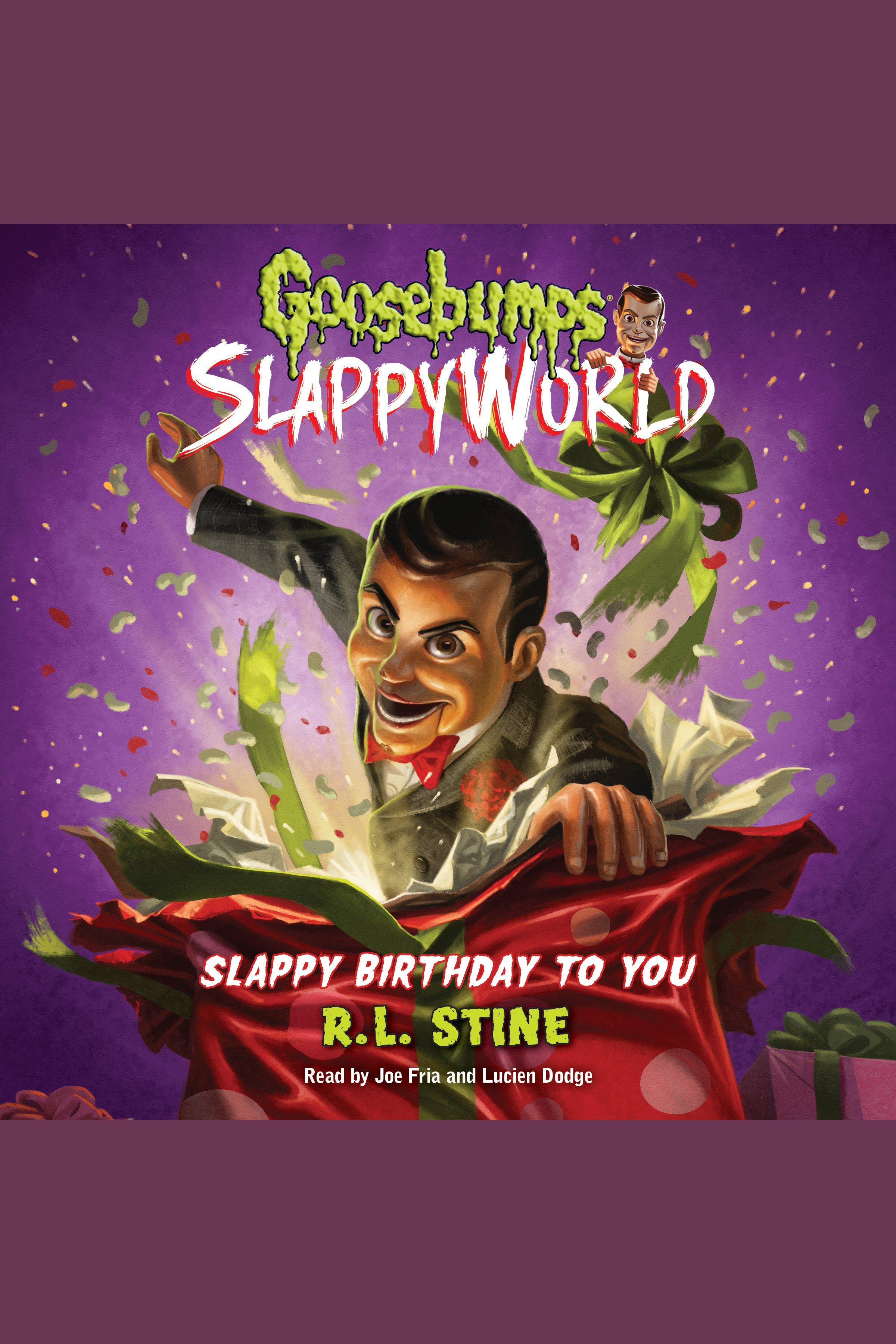 Slappy birthday to you cover image