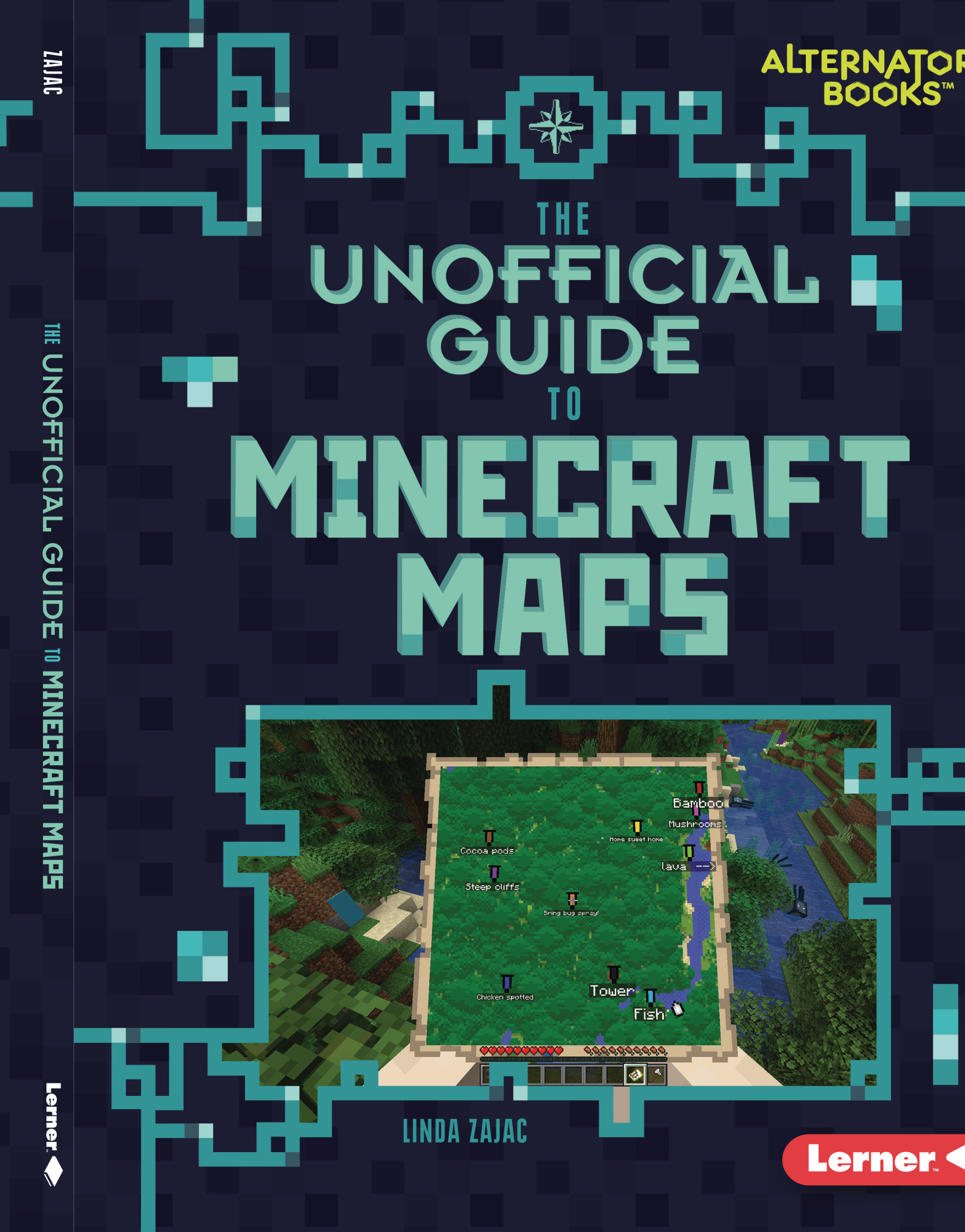 Cover Image of The Unofficial Guide to Minecraft Maps