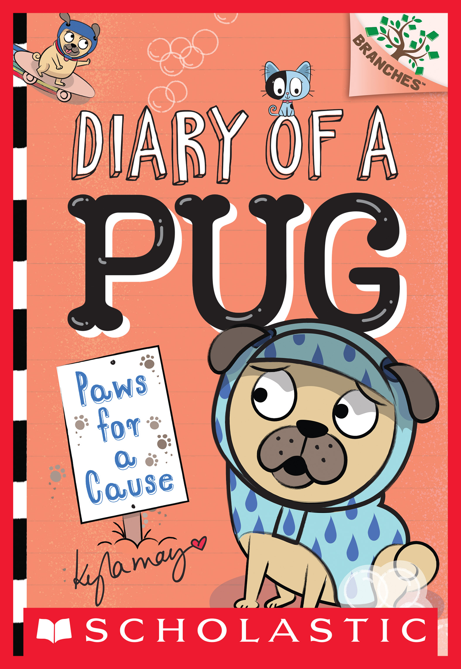 Paws for a Cause: A Branches Book (Diary of a Pug #3) [electronic resource (downloadable eBook)]
