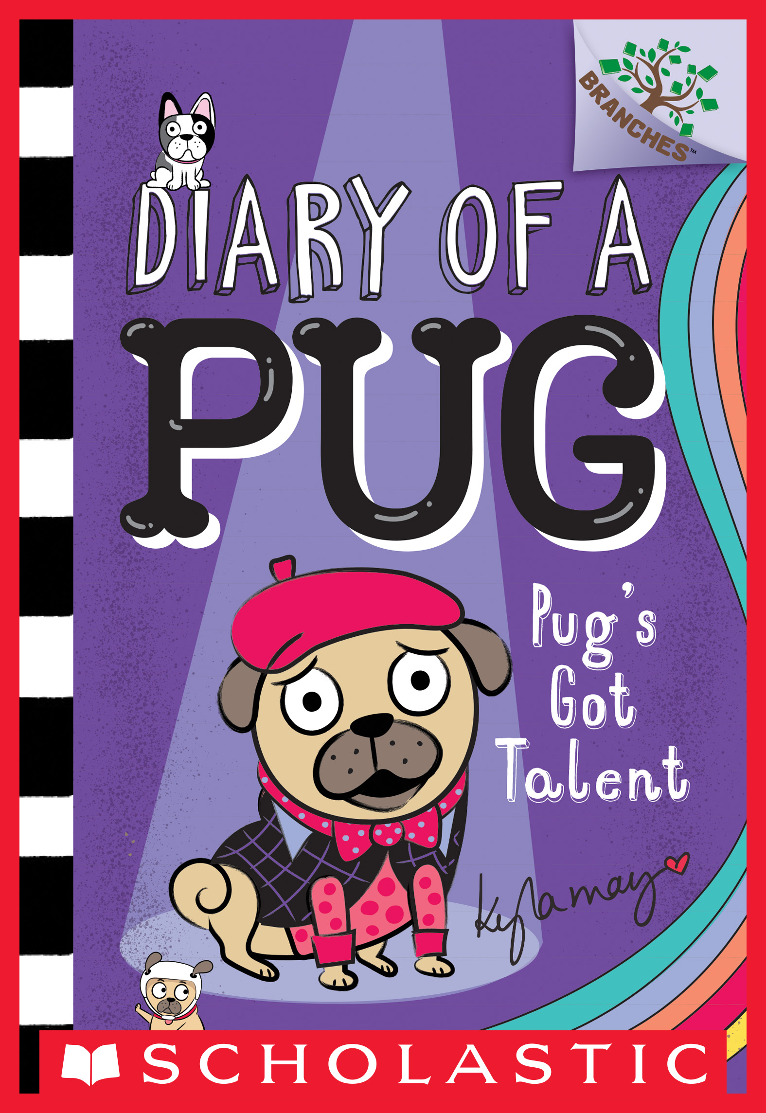 Cover Image of Pug's Got Talent: A Branches Book (Diary of a Pug #4)