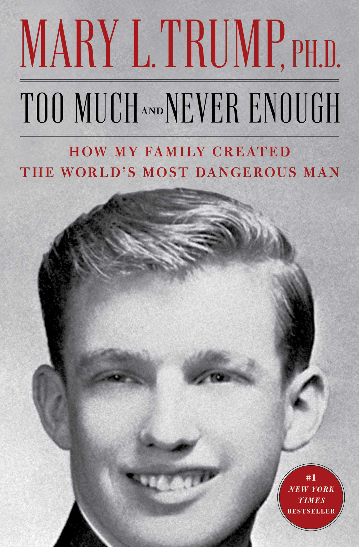 Cover Image of Too Much and Never Enough