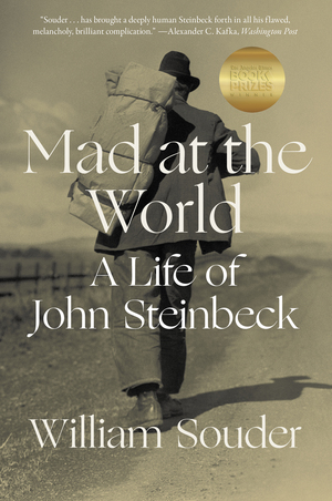 Cover Image of Mad at the World: A Life of John Steinbeck