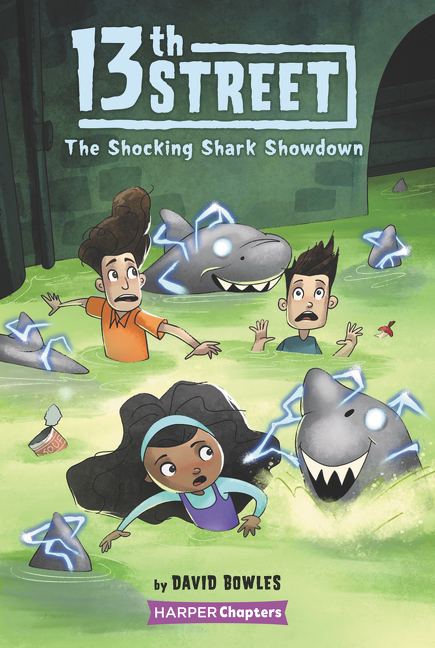13th Street #4: The Shocking Shark Showdown