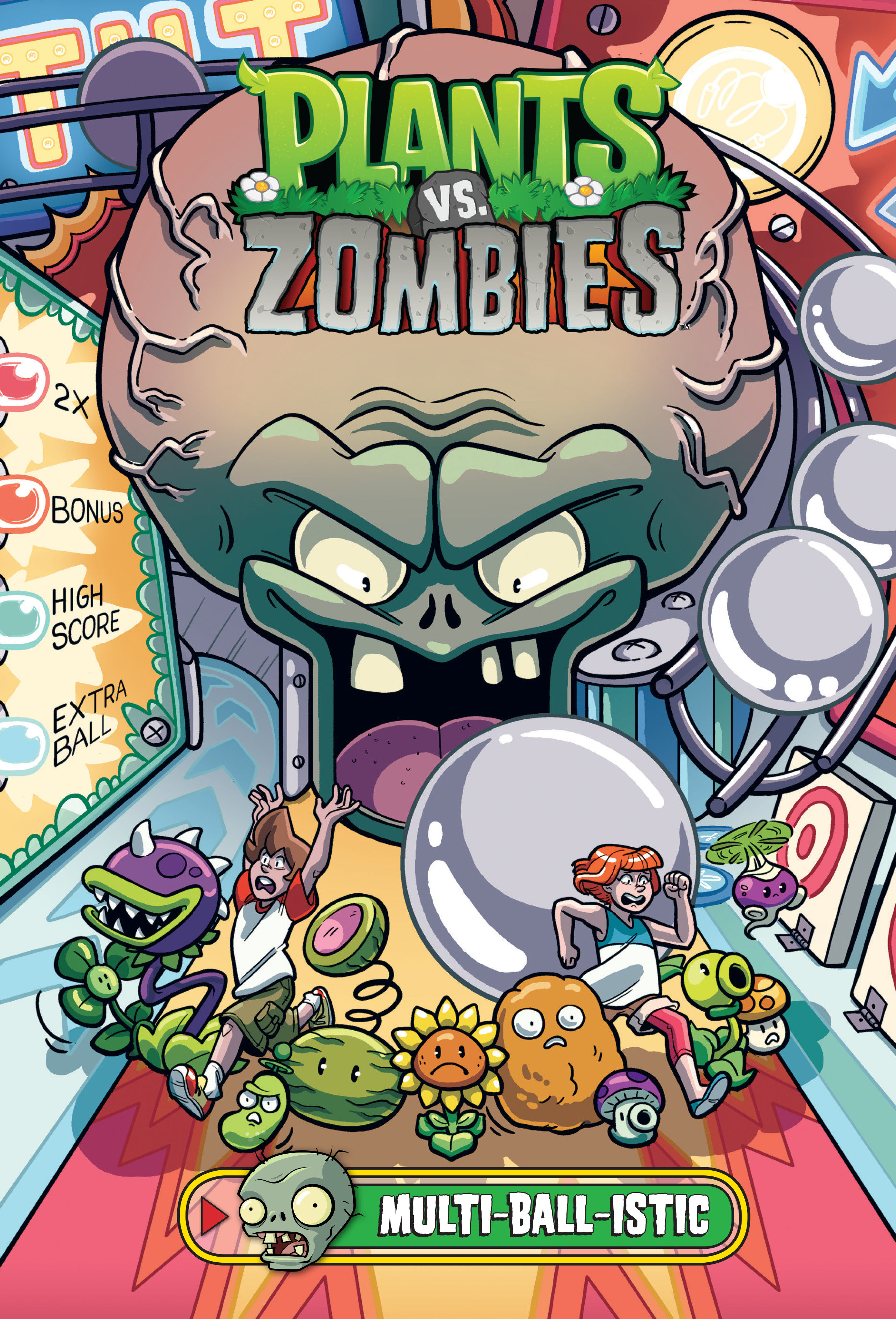 Cover Image of Plants vs. Zombies Volume 17: Multi-ball-istic