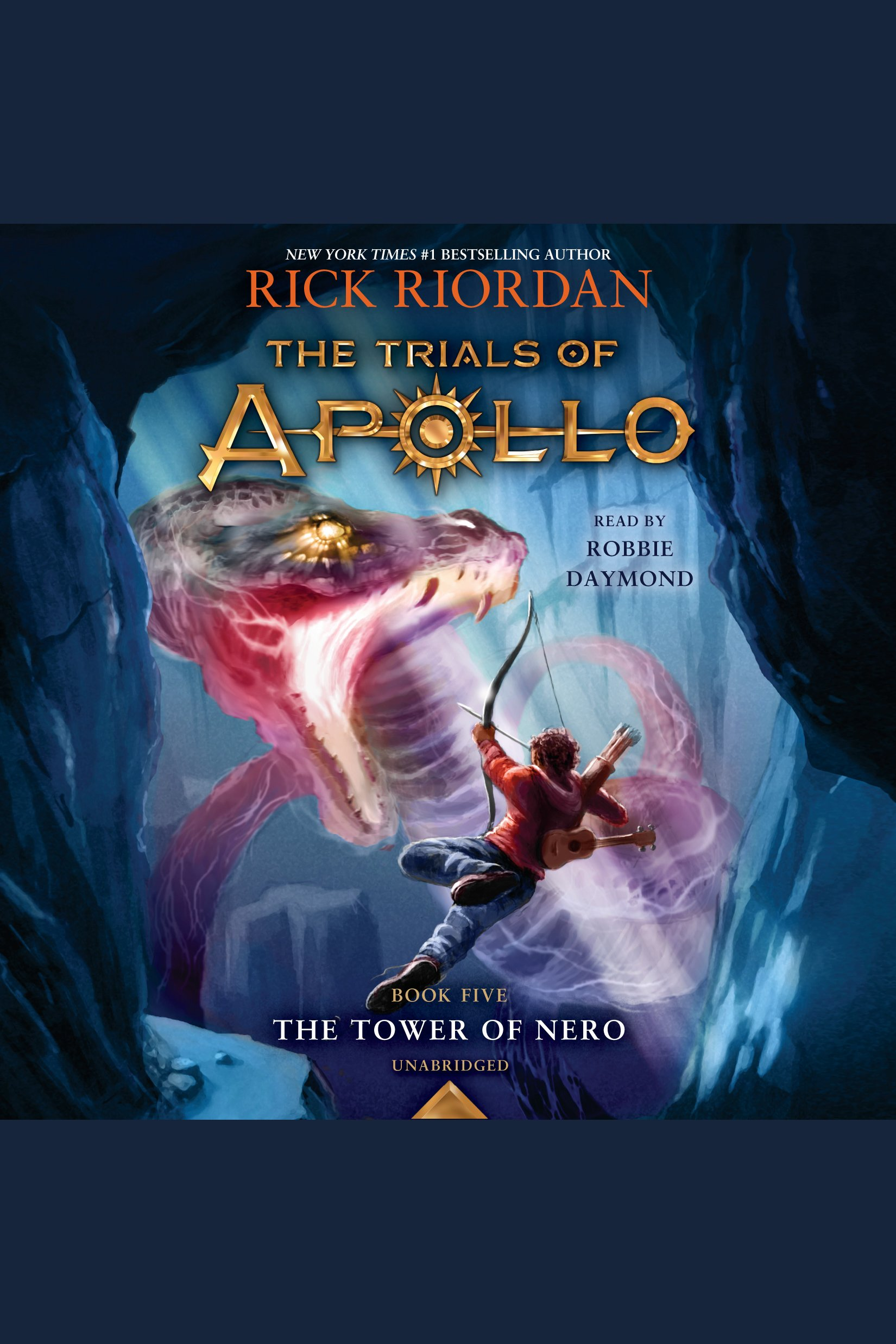 Cover Image of The Tower of Nero (Trials of Apollo, Book Five)