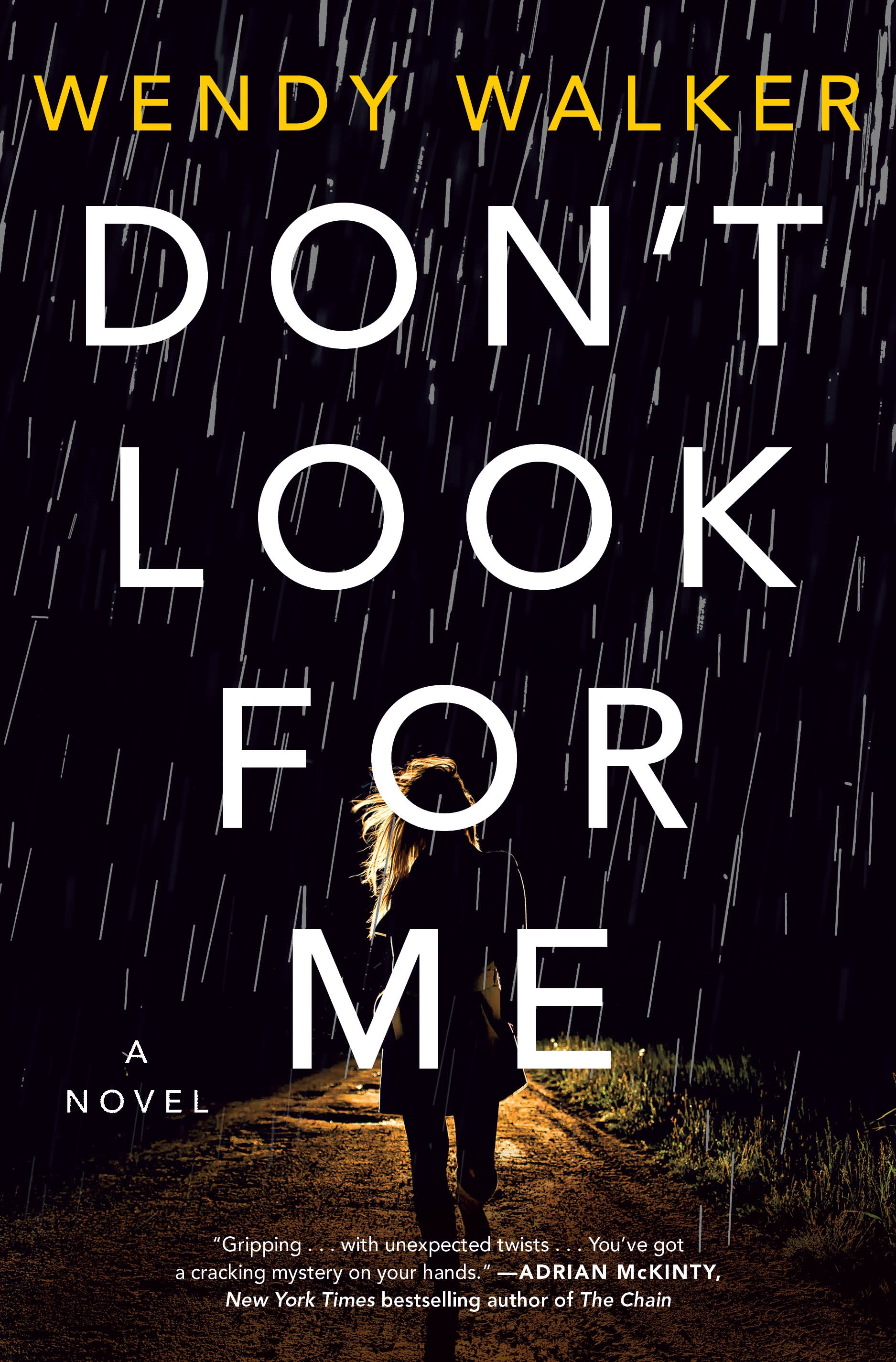 Don't Look for Me A Novel