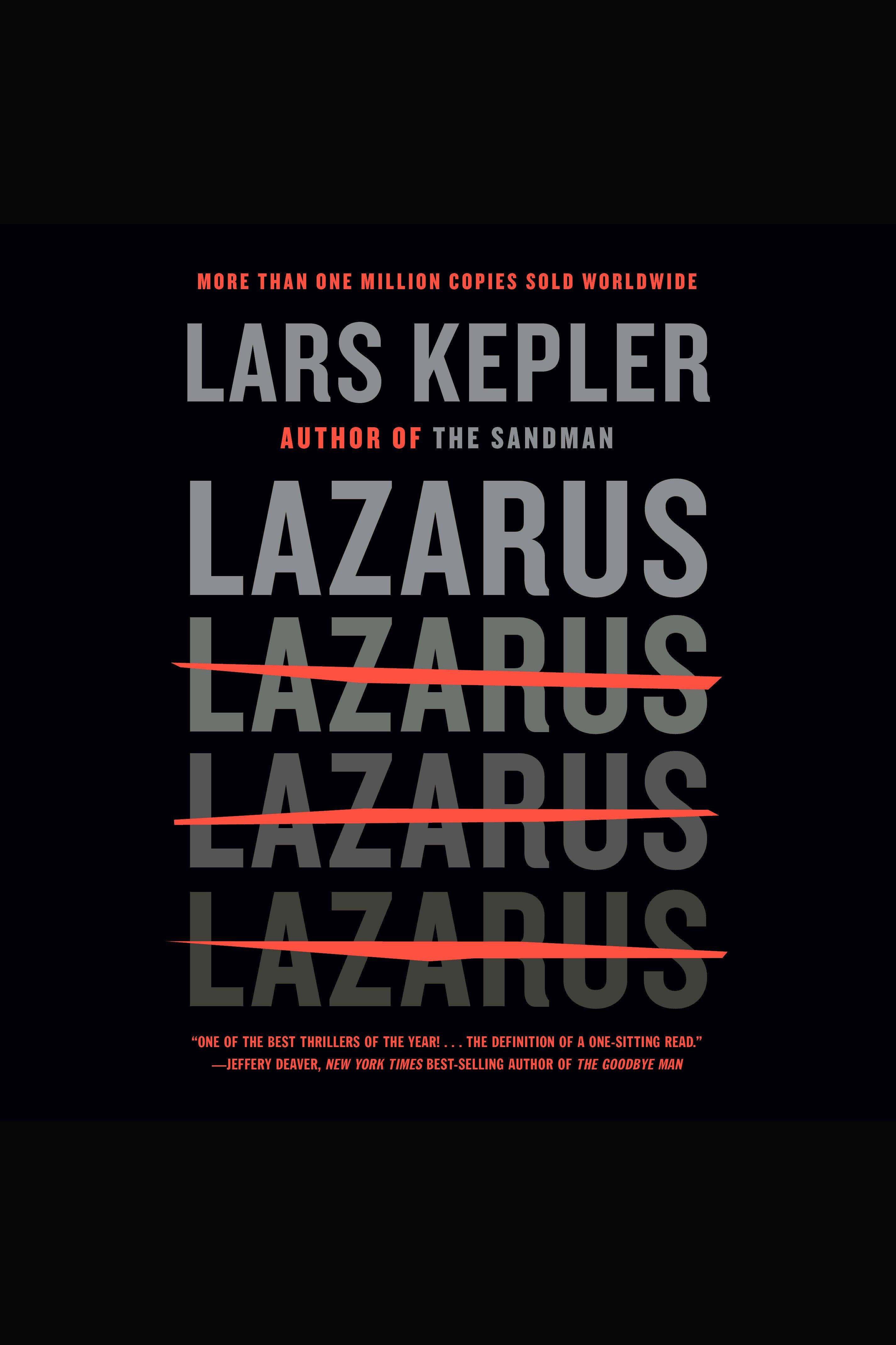 Lazarus cover image
