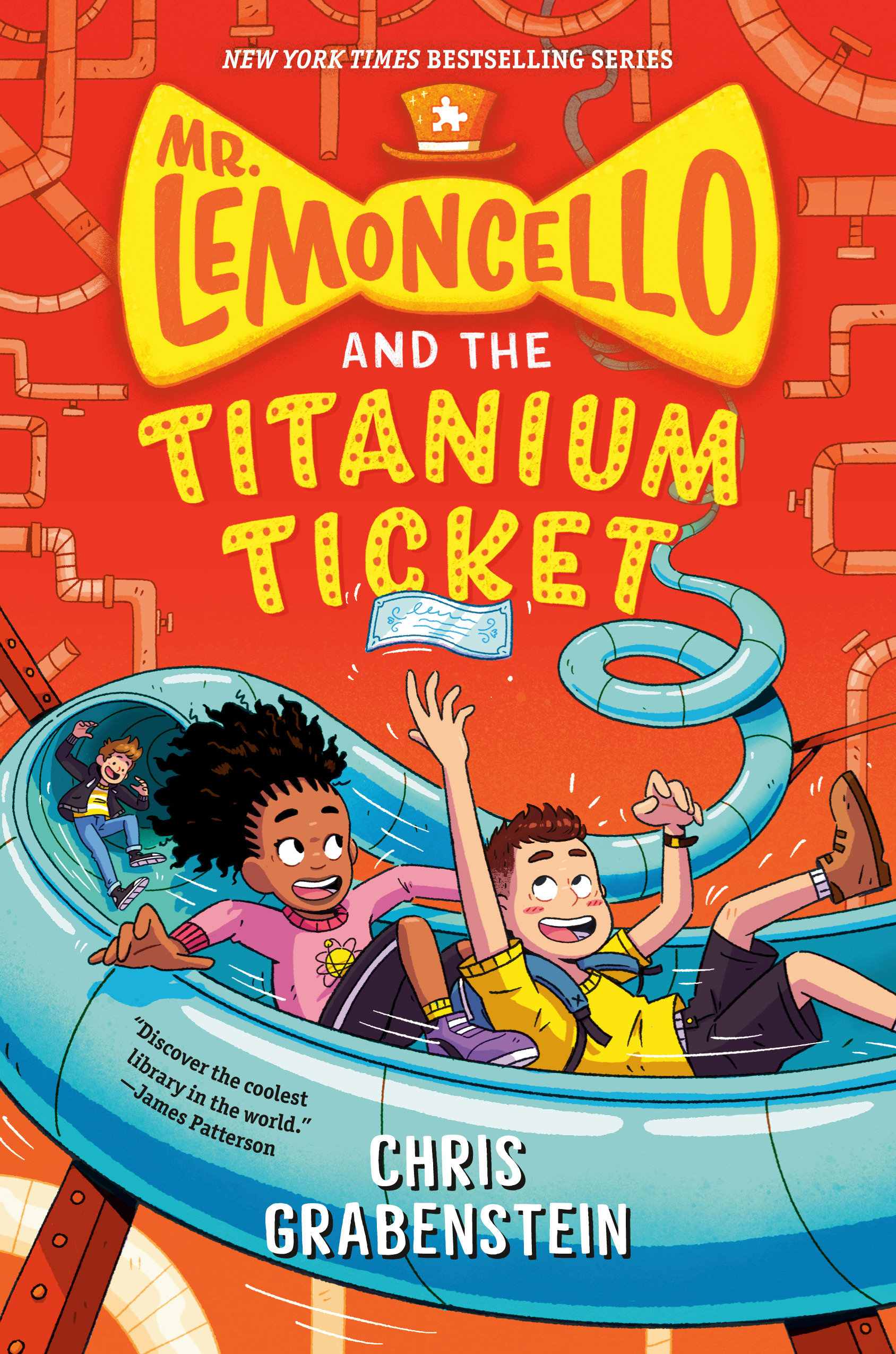 Mr. Lemoncello and the Titanium Ticket [electronic resource (downloadable eBook)]