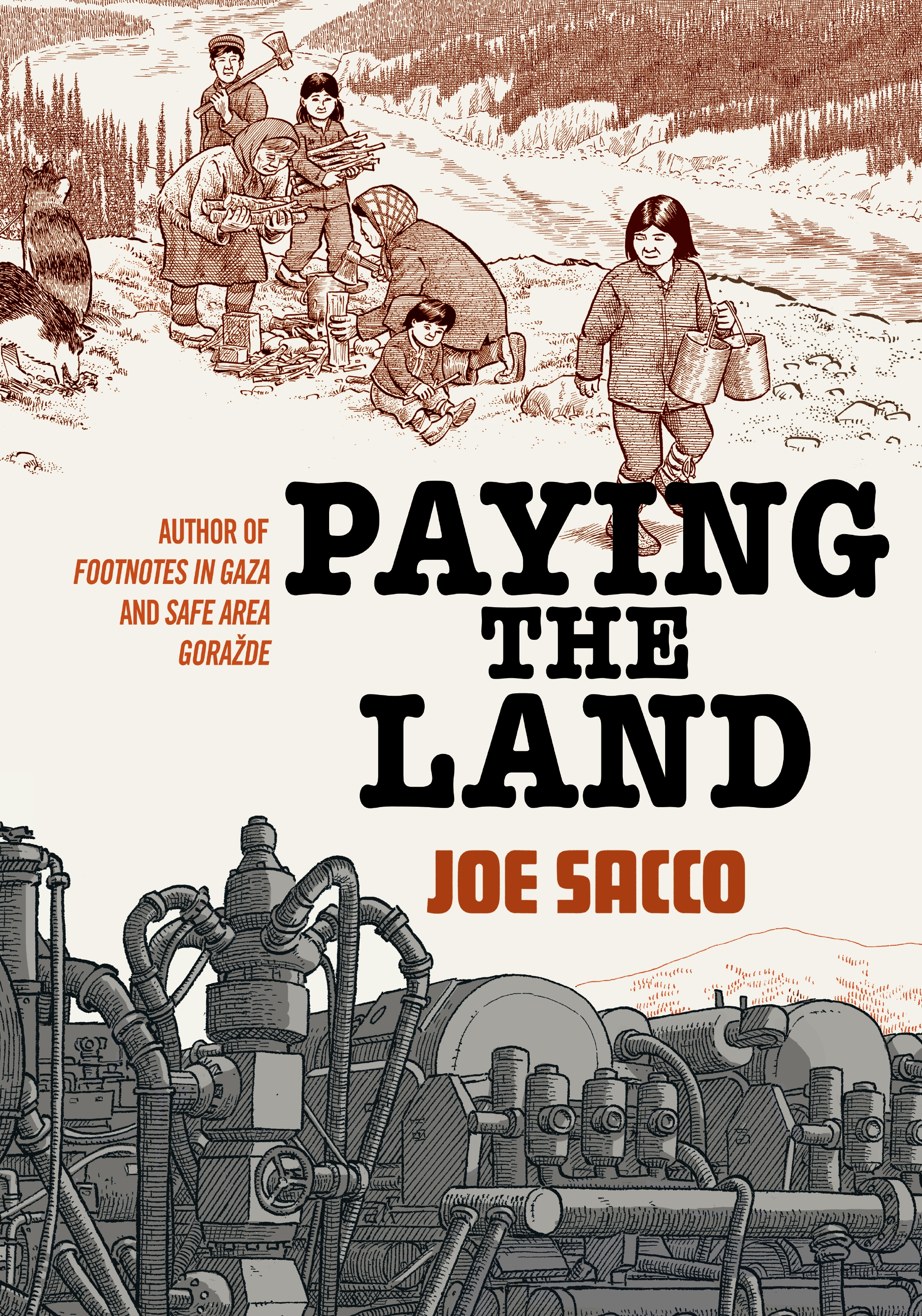 Cover Image of Paying the Land