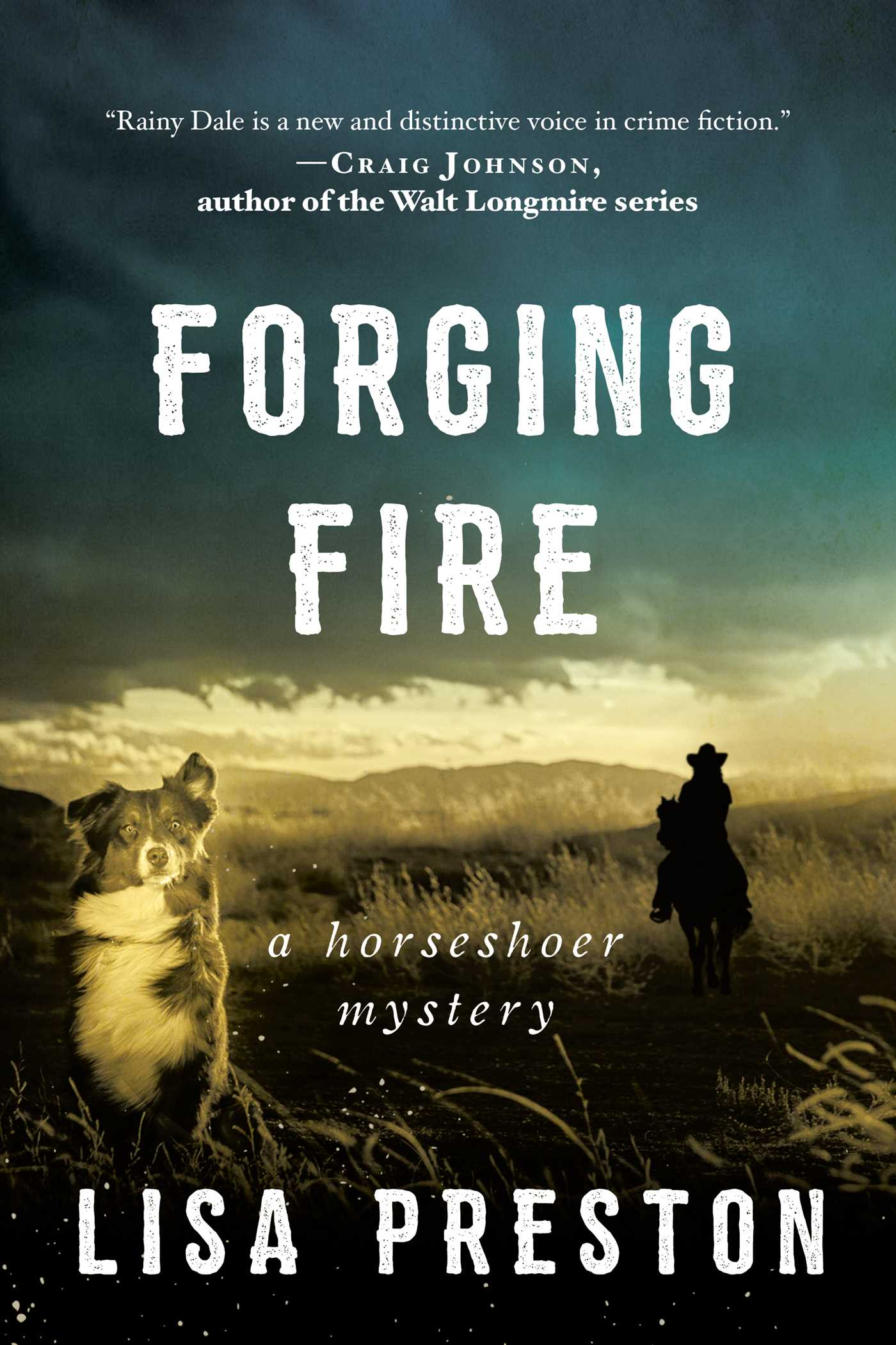 Cover Image of Forging Fire
