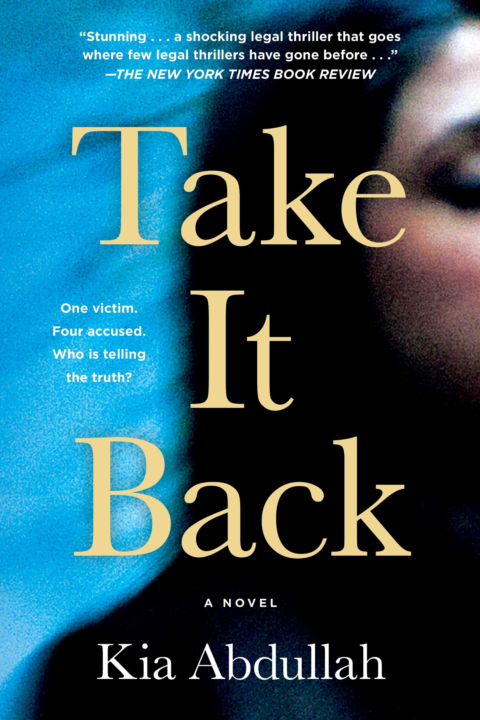 Take It Back A Novel