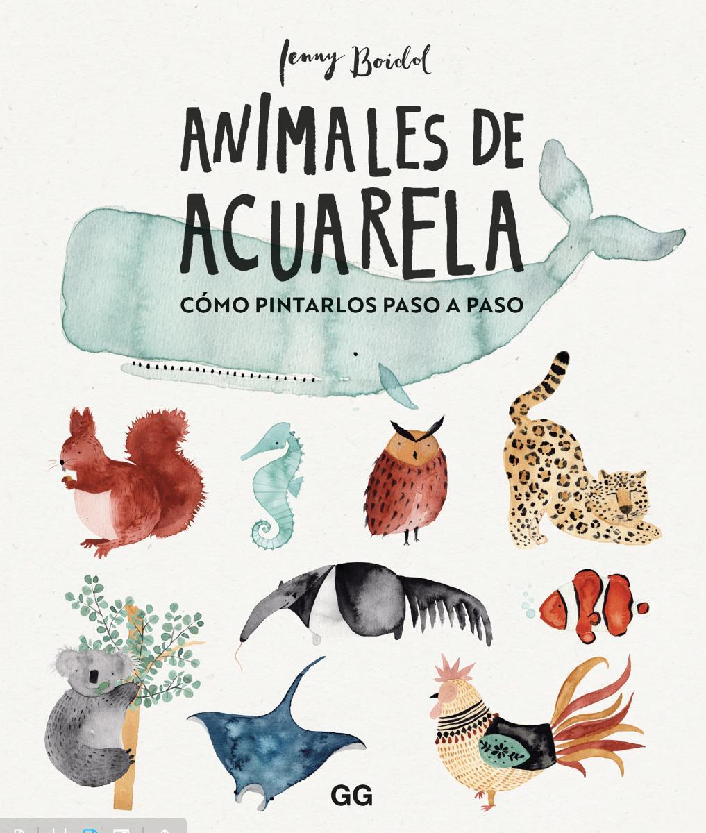 Animales de acuarela Cómo dibujarlos paso a paso