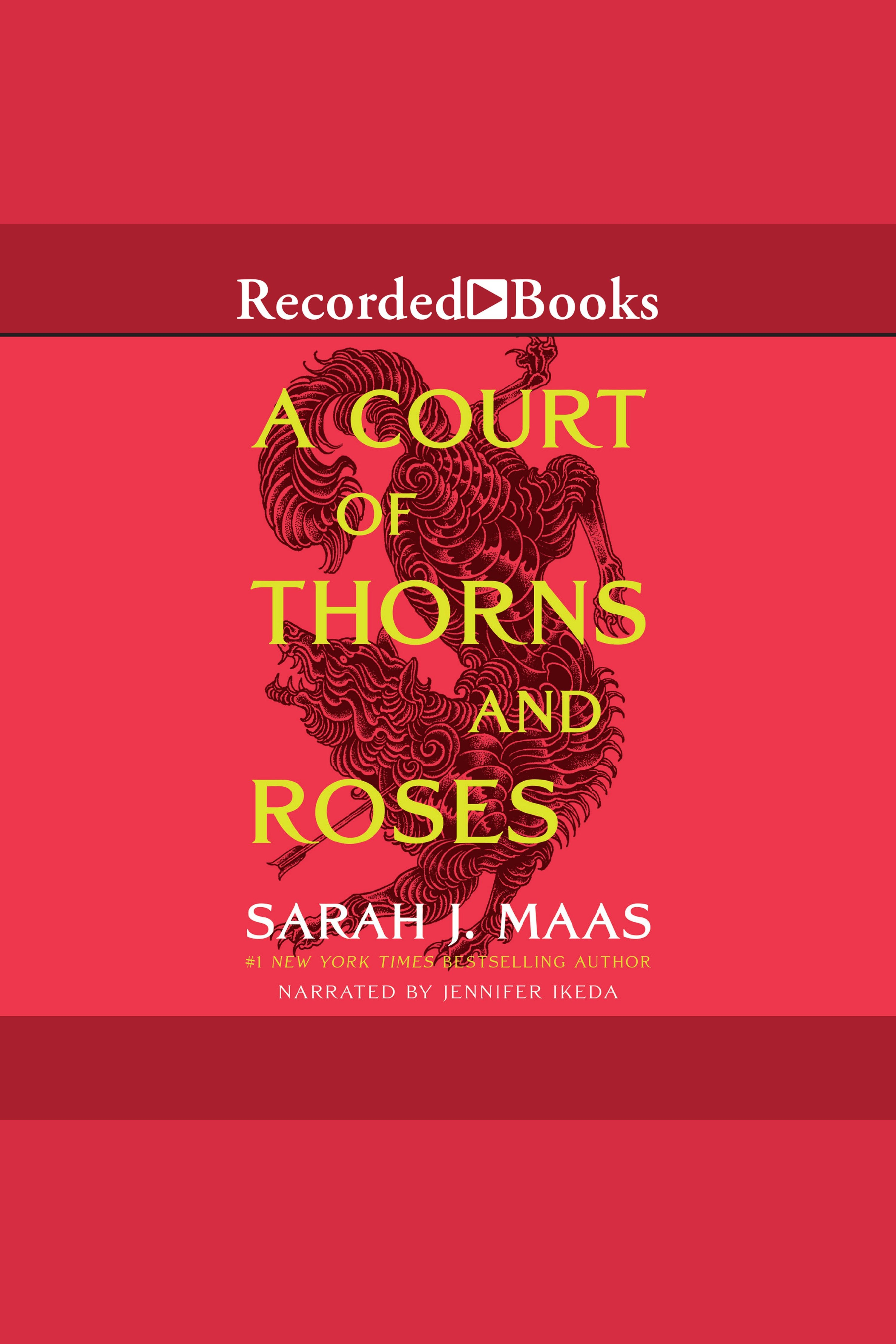Cover Image of A Court of Thorns and Roses