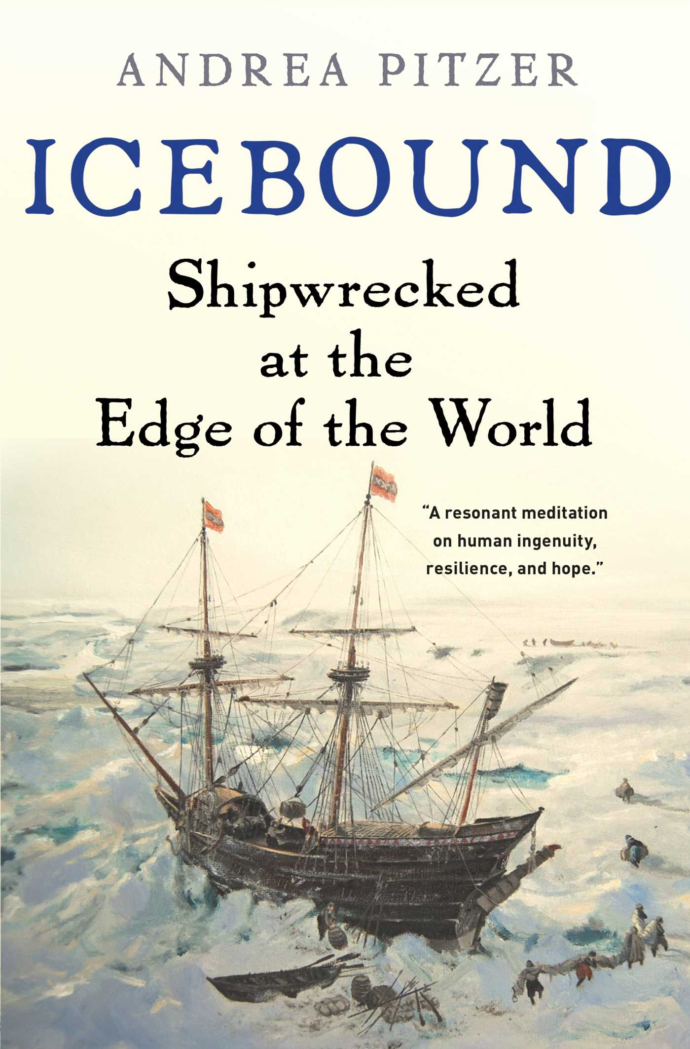 Icebound Shipwrecked at the Edge of the World cover image