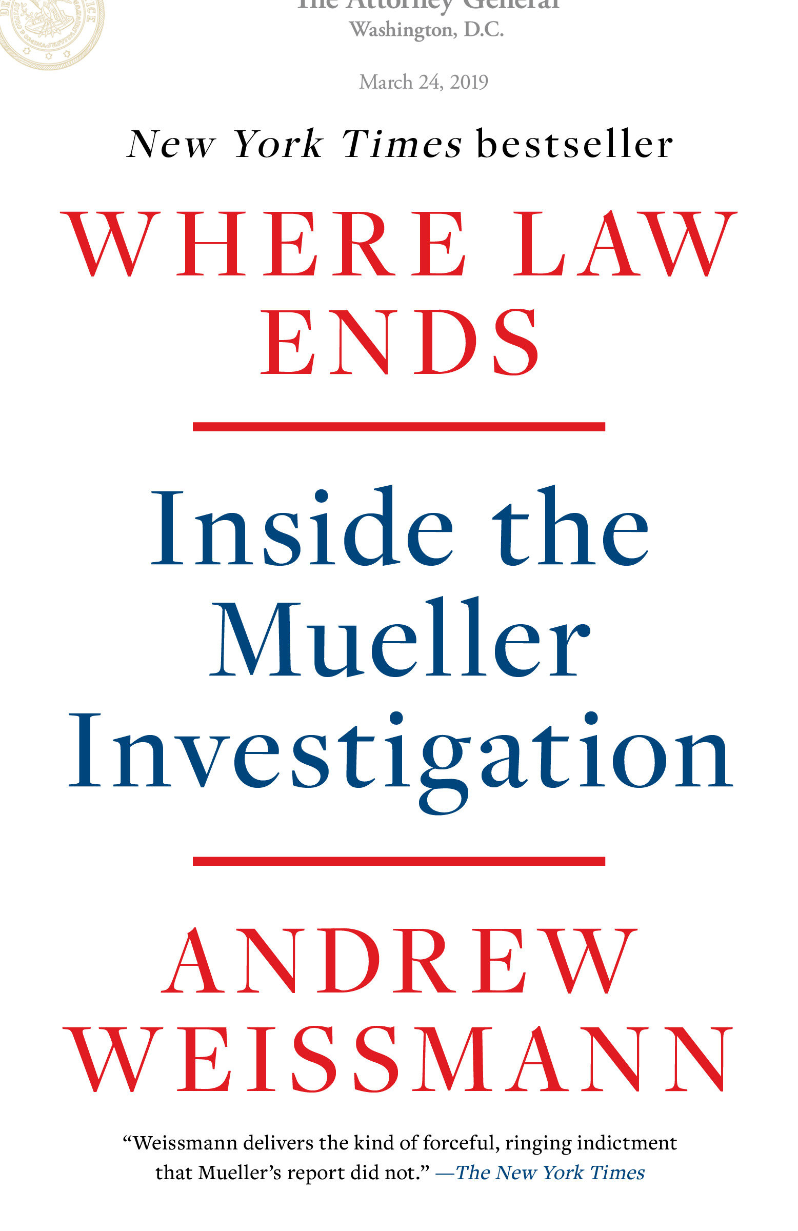 Cover Image of Where Law Ends