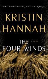 Los cuatro vientos de Kristin Hannah, portada del libro