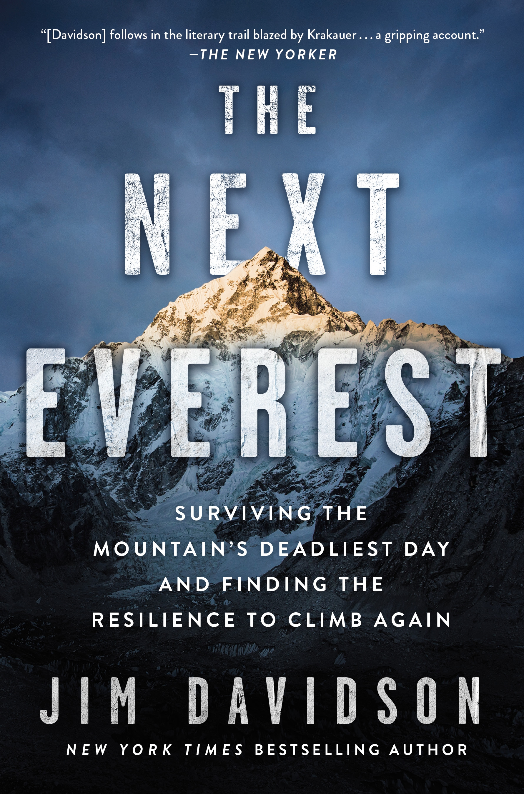 The Next Everest Surviving the Mountain's Deadliest Day and Finding the Resilience to Climb Again