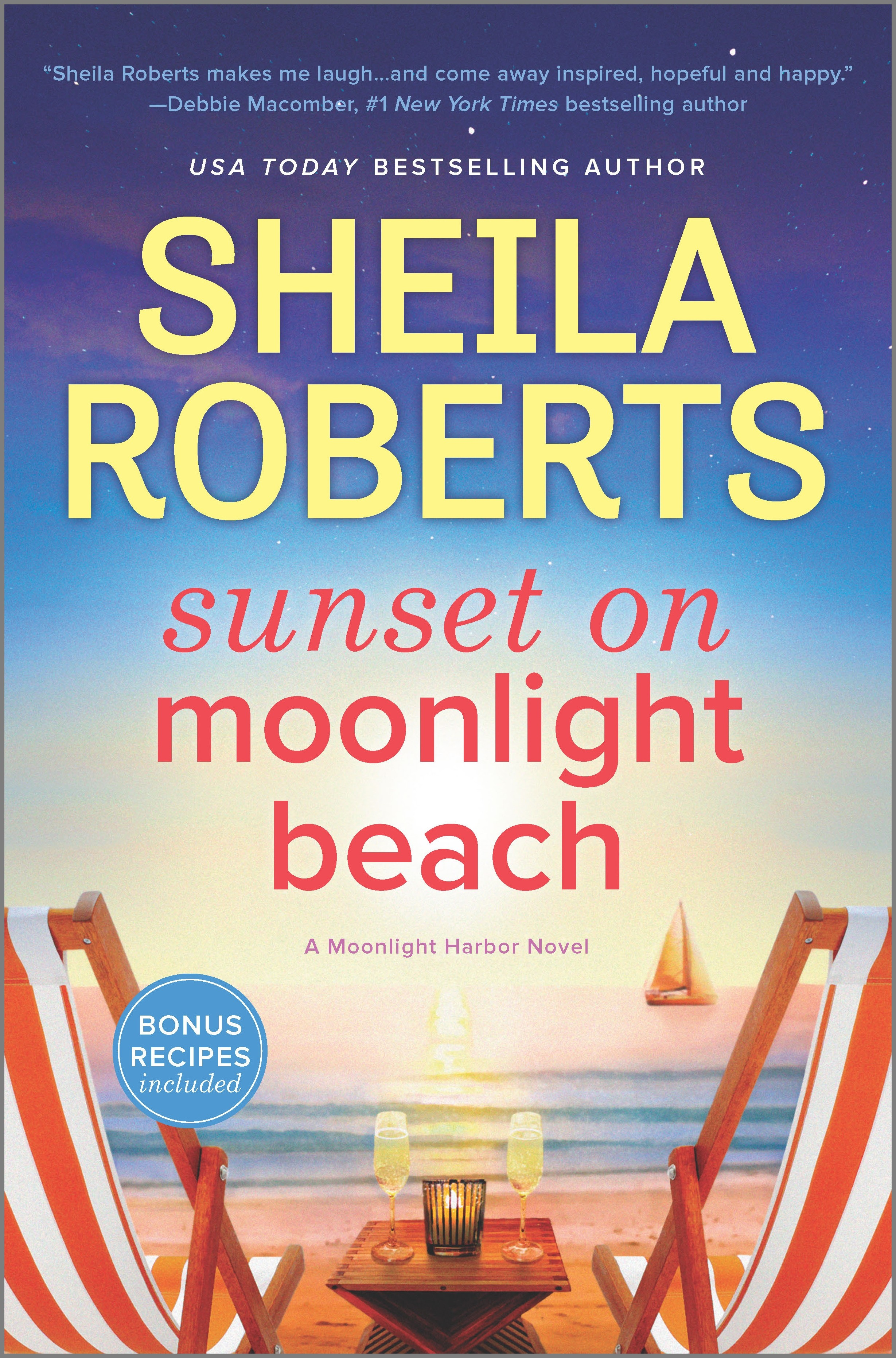 Cover Image of Sunset on Moonlight Beach