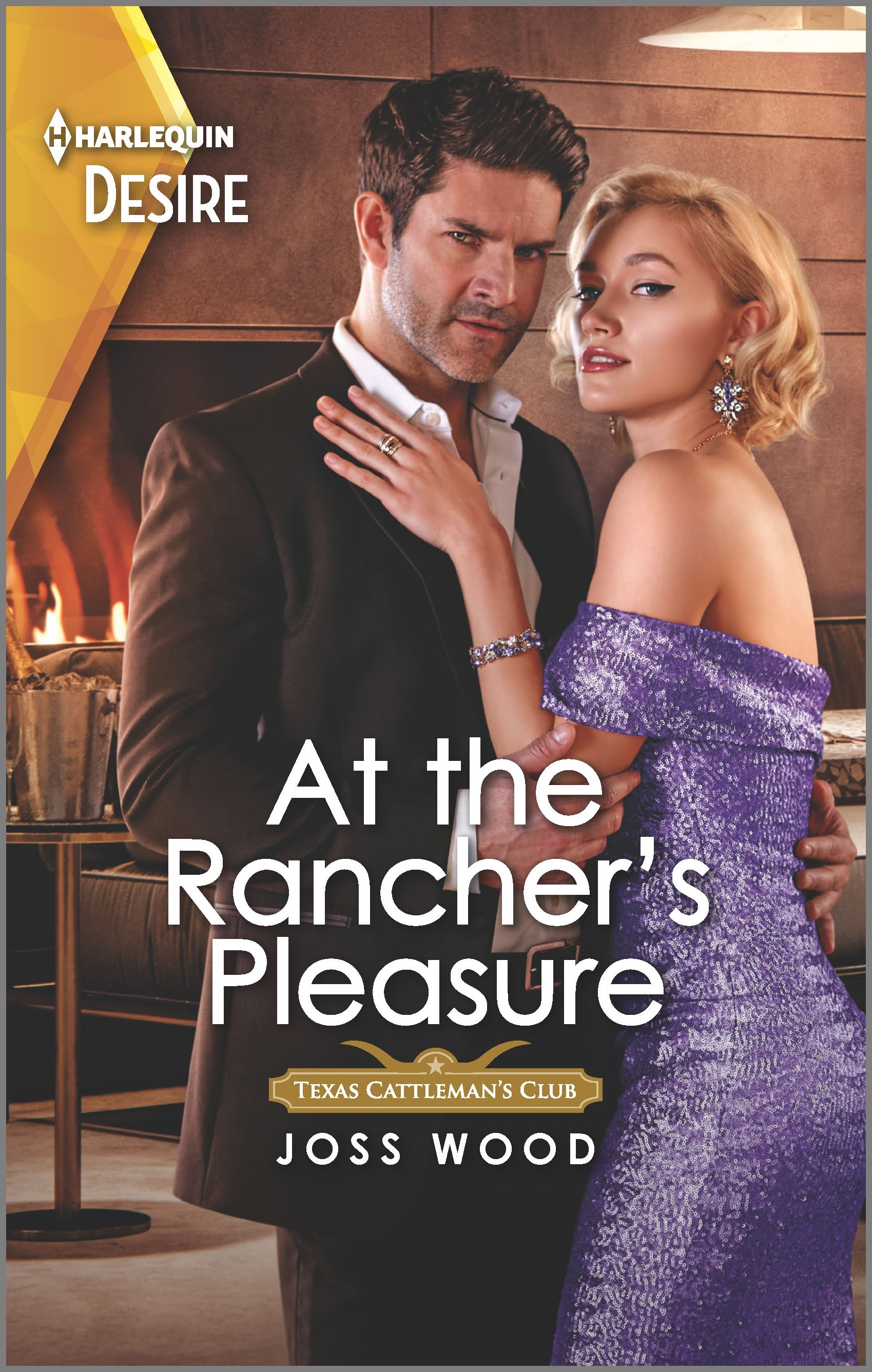 At the Rancher's Pleasure An older woman younger man Western romance