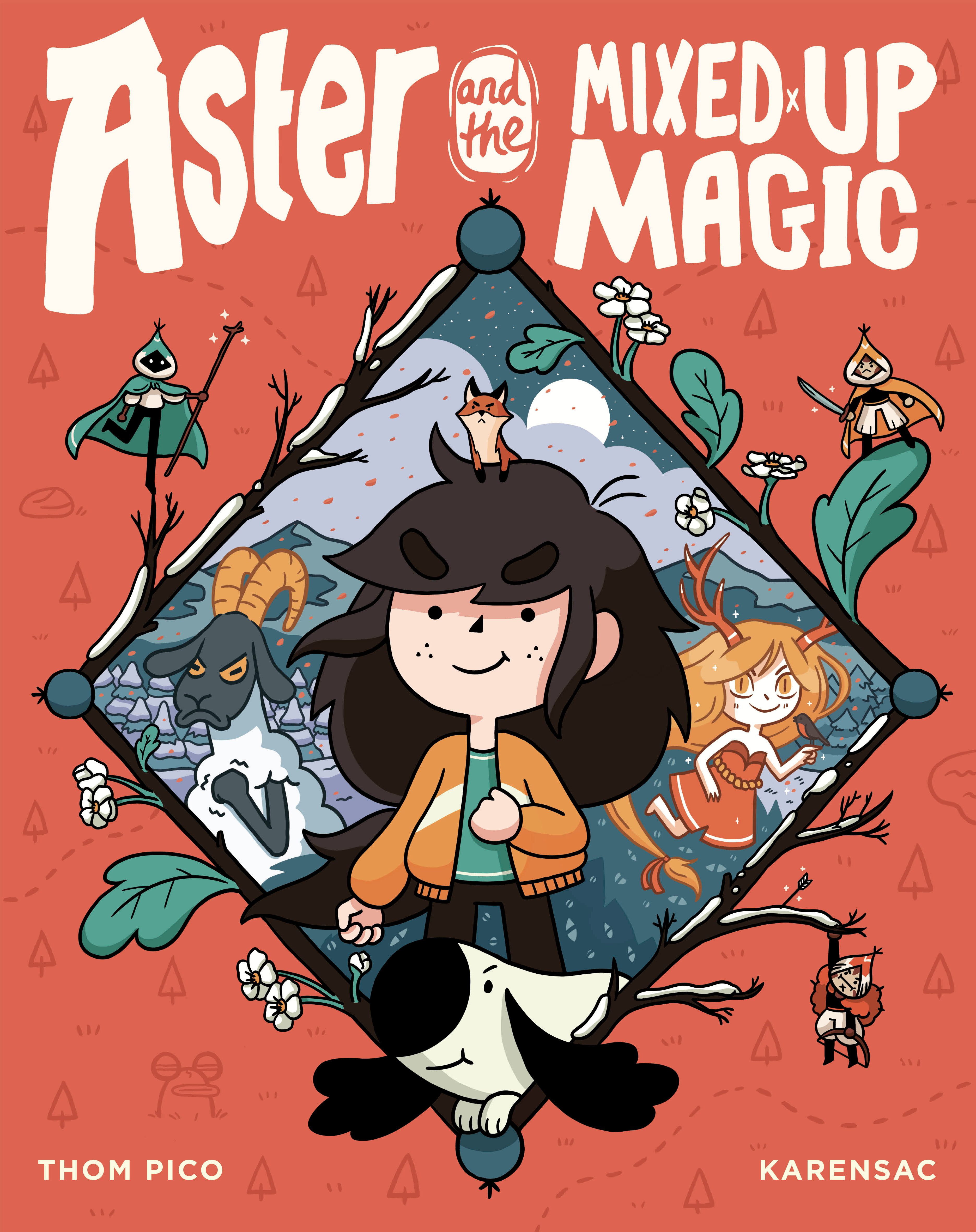 Cover Image of Aster and the Mixed-Up Magic