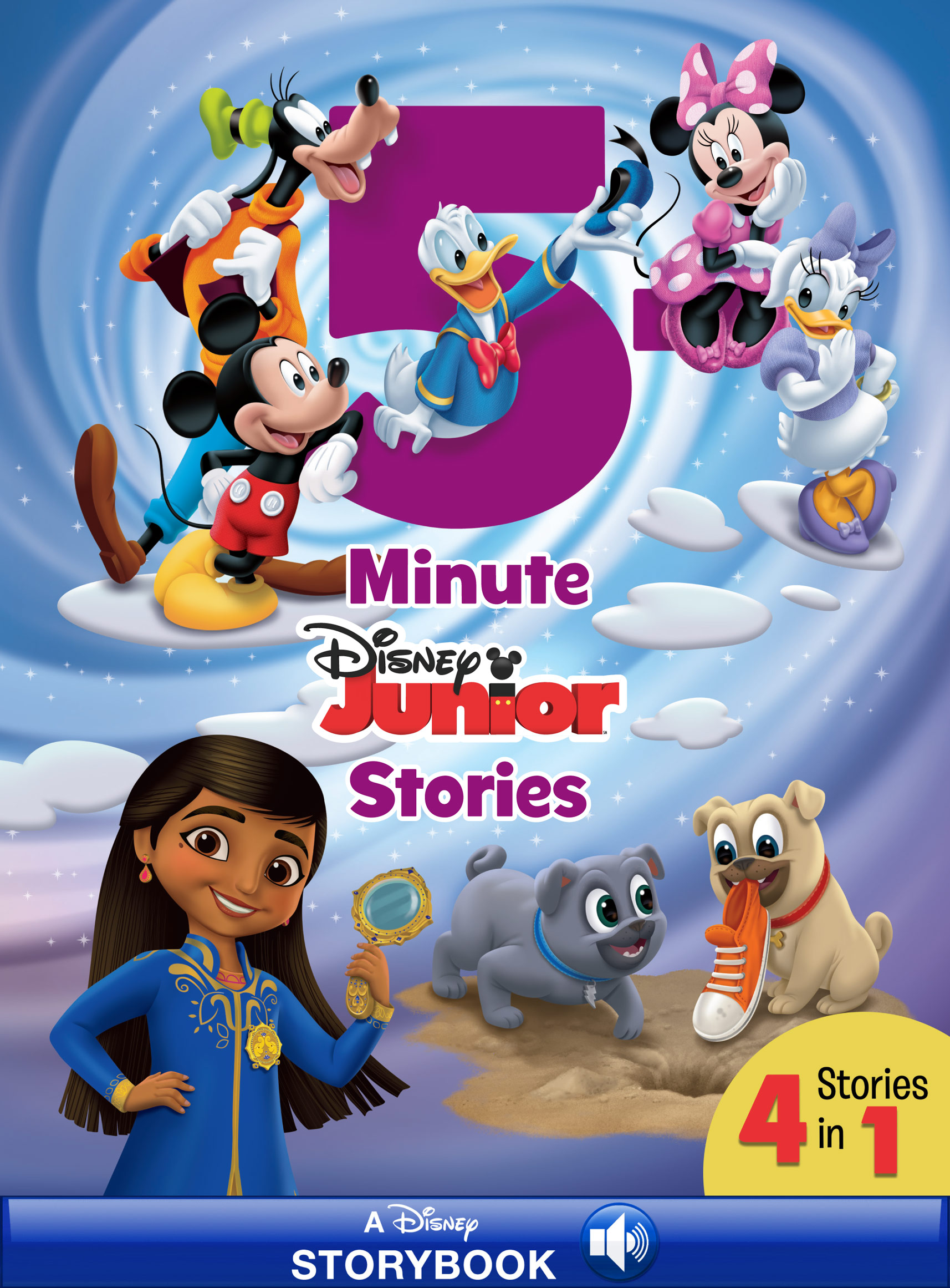 5-Minute Disney Junior (Refresh) 4 Stories in 1