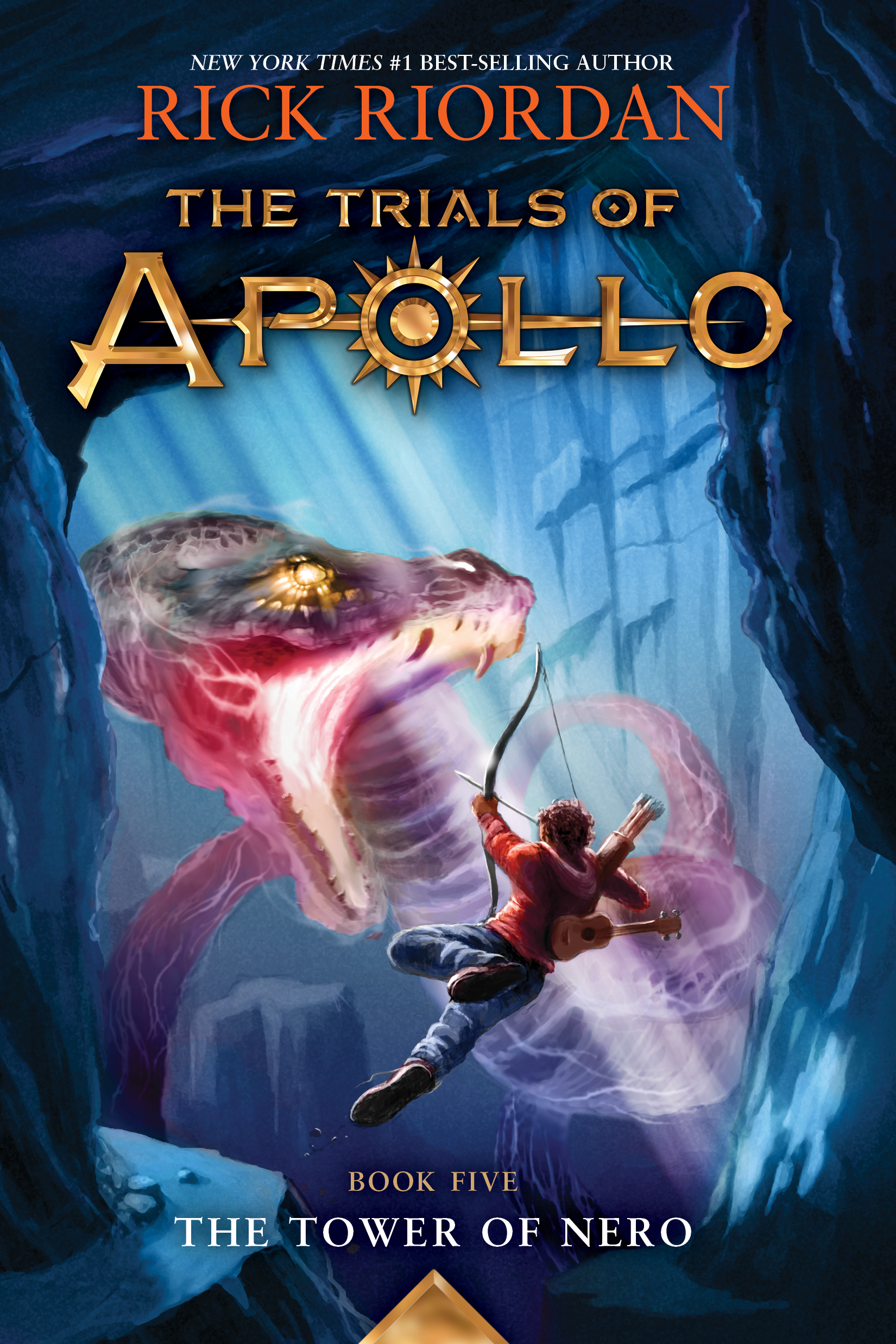 Cover Image of The Trials of Apollo, Book Five: The Tower of Nero