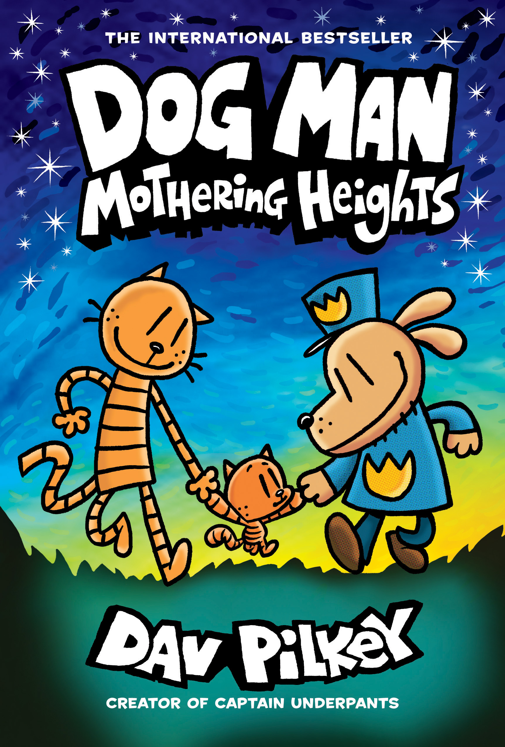 Cover Image of Dog Man: Mothering Heights: From the Creator of Captain Underpants (Dog Man #10)
