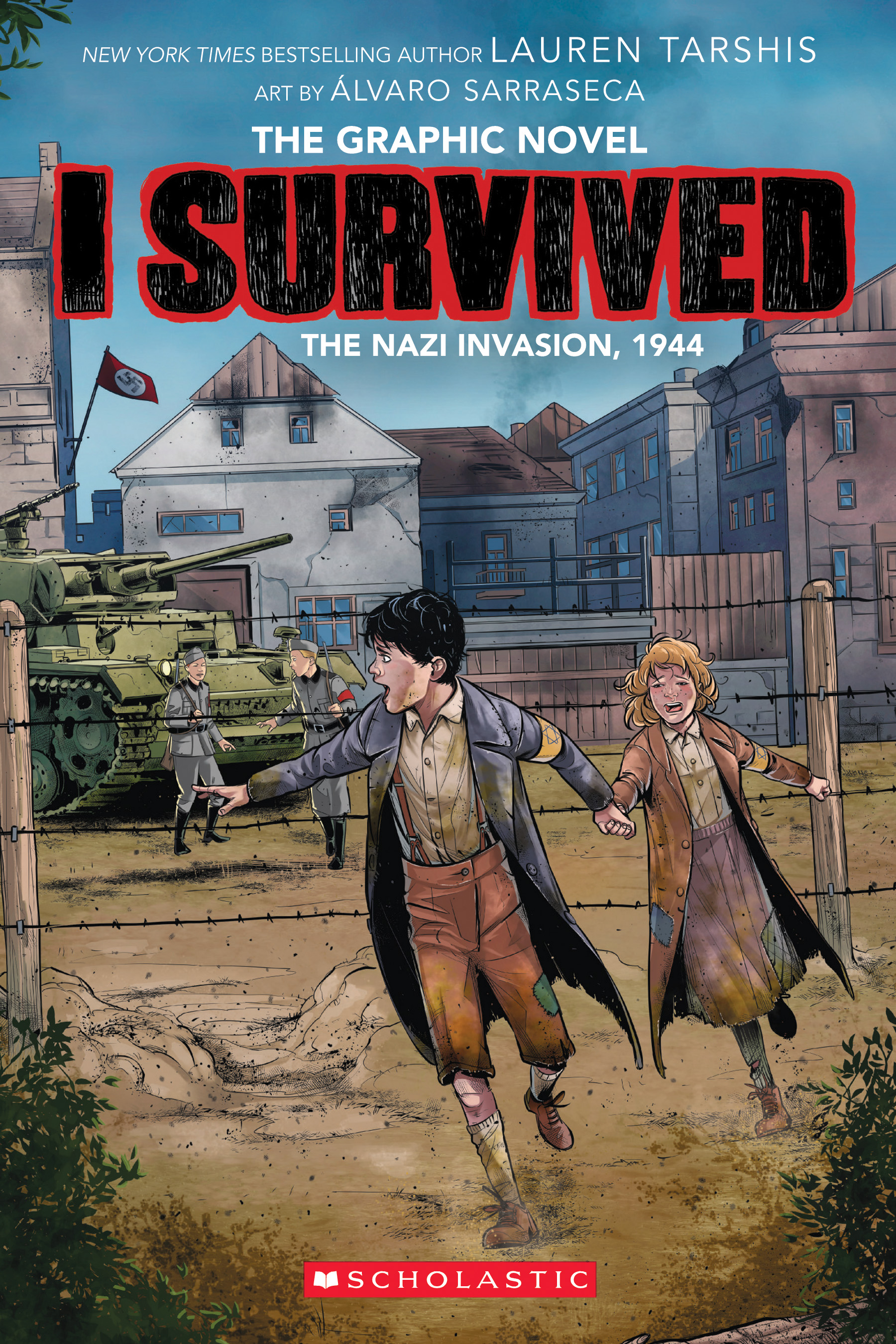 Cover Image of I Survived the Nazi Invasion, 1944 (I Survived Graphic Novel #3): A Graphix Book