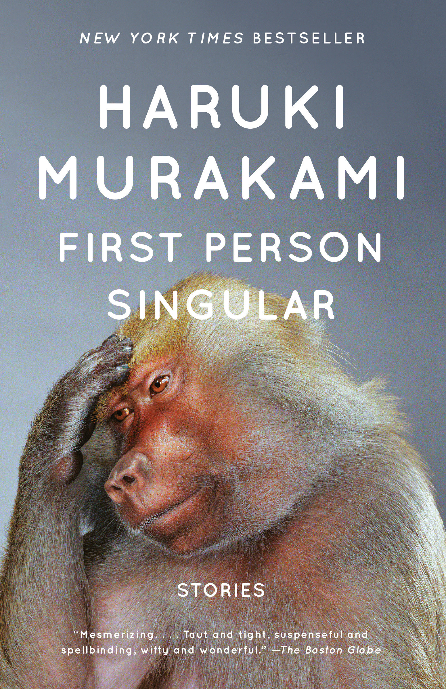 Cover Image of First Person Singular