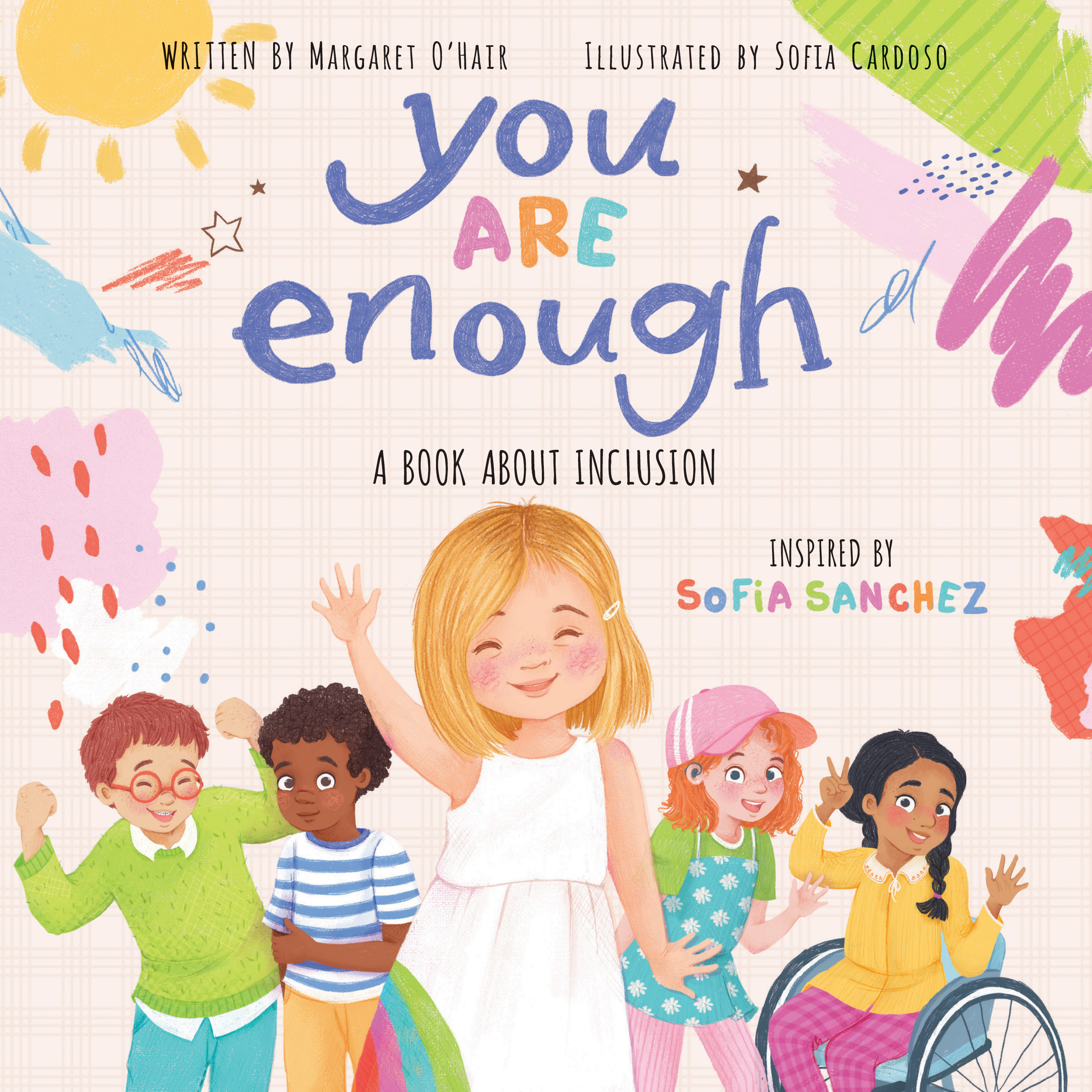 Cover Image of You Are Enough: A Book About Inclusion