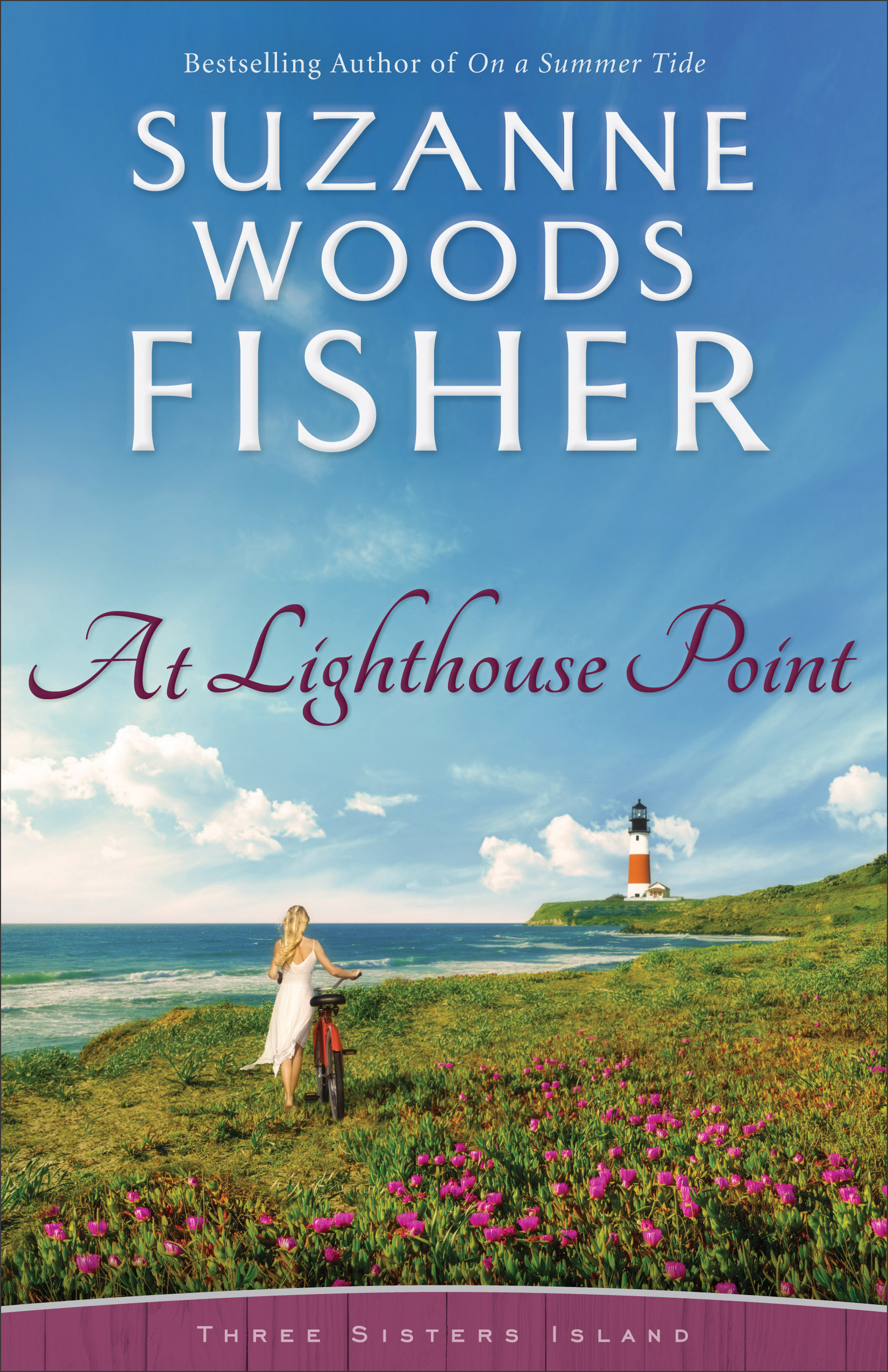 Cover Image of At Lighthouse Point (Three Sisters Island Book #3)