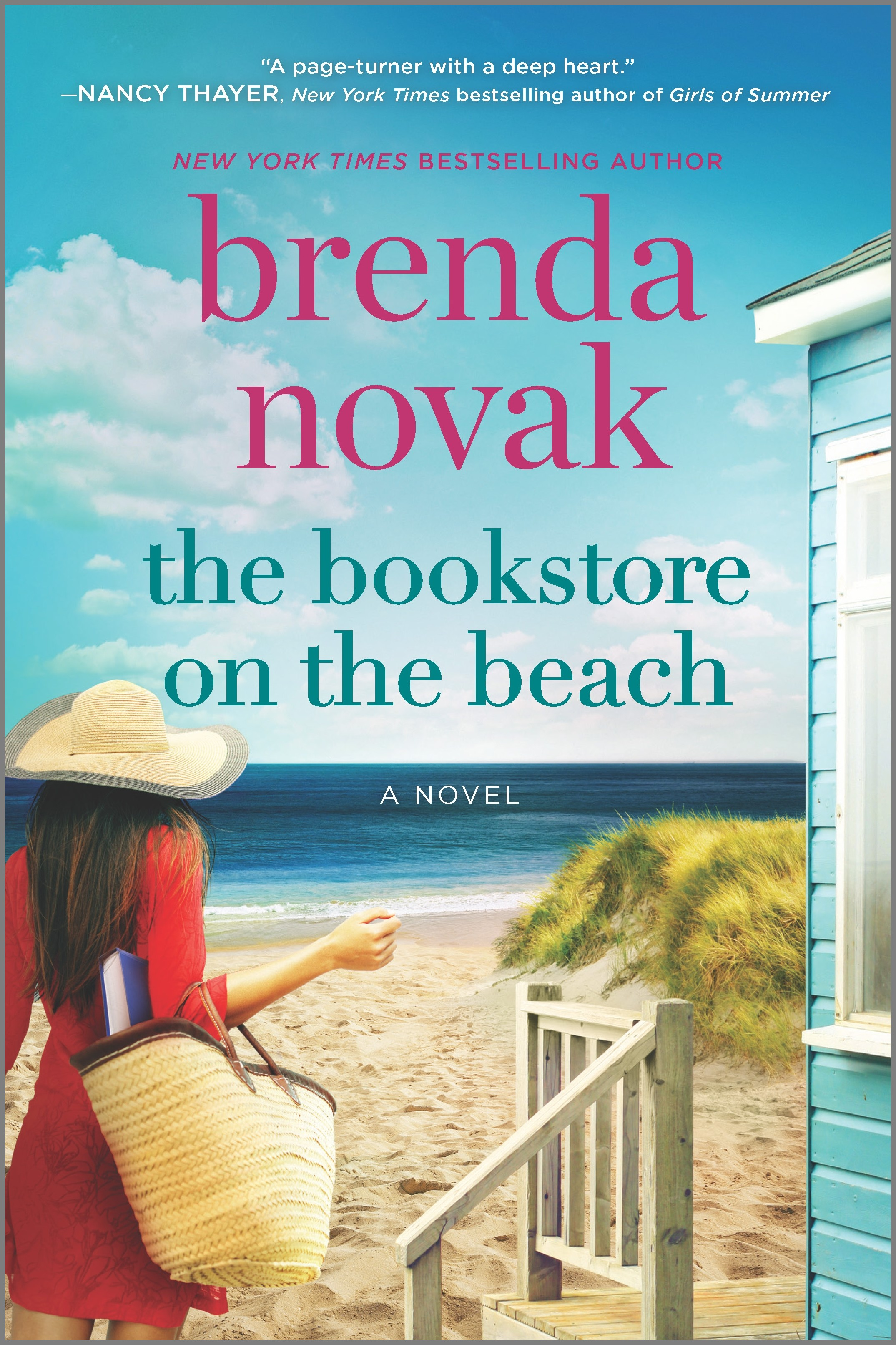Cover Image of The Bookstore on the Beach