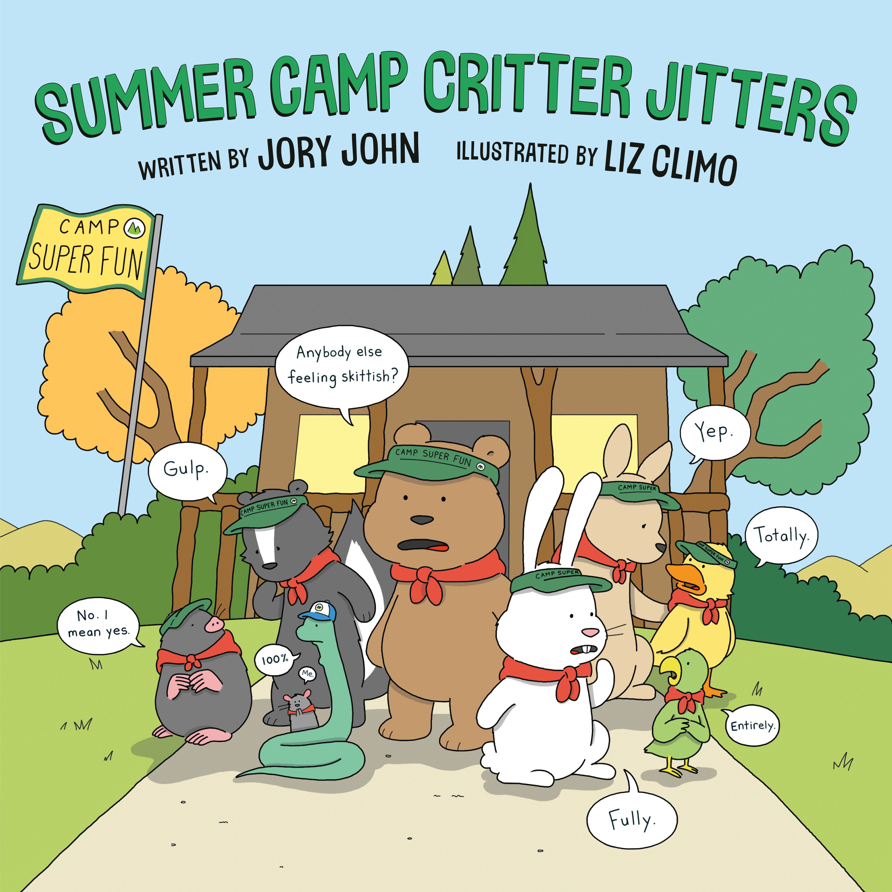 Summer Camp Critter Jitters