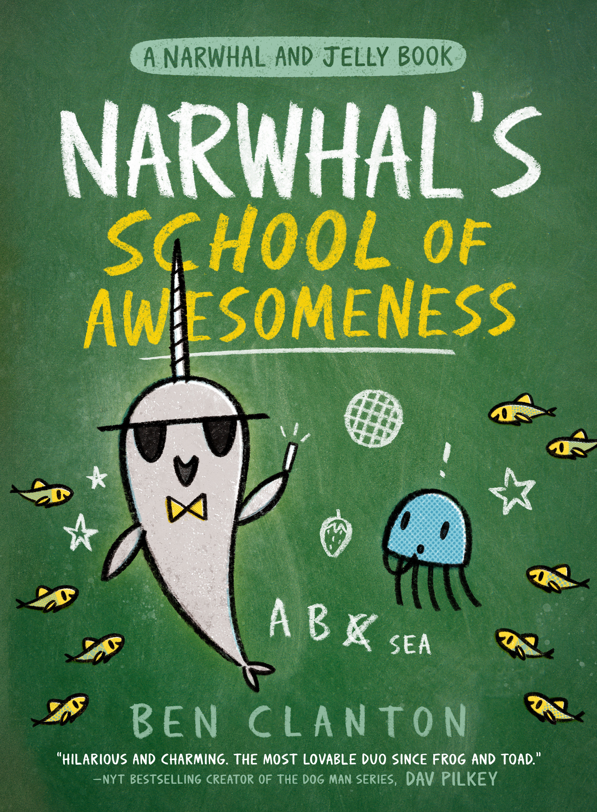 Cover Image of Narwhal's School of Awesomeness (A Narwhal and Jelly Book #6)