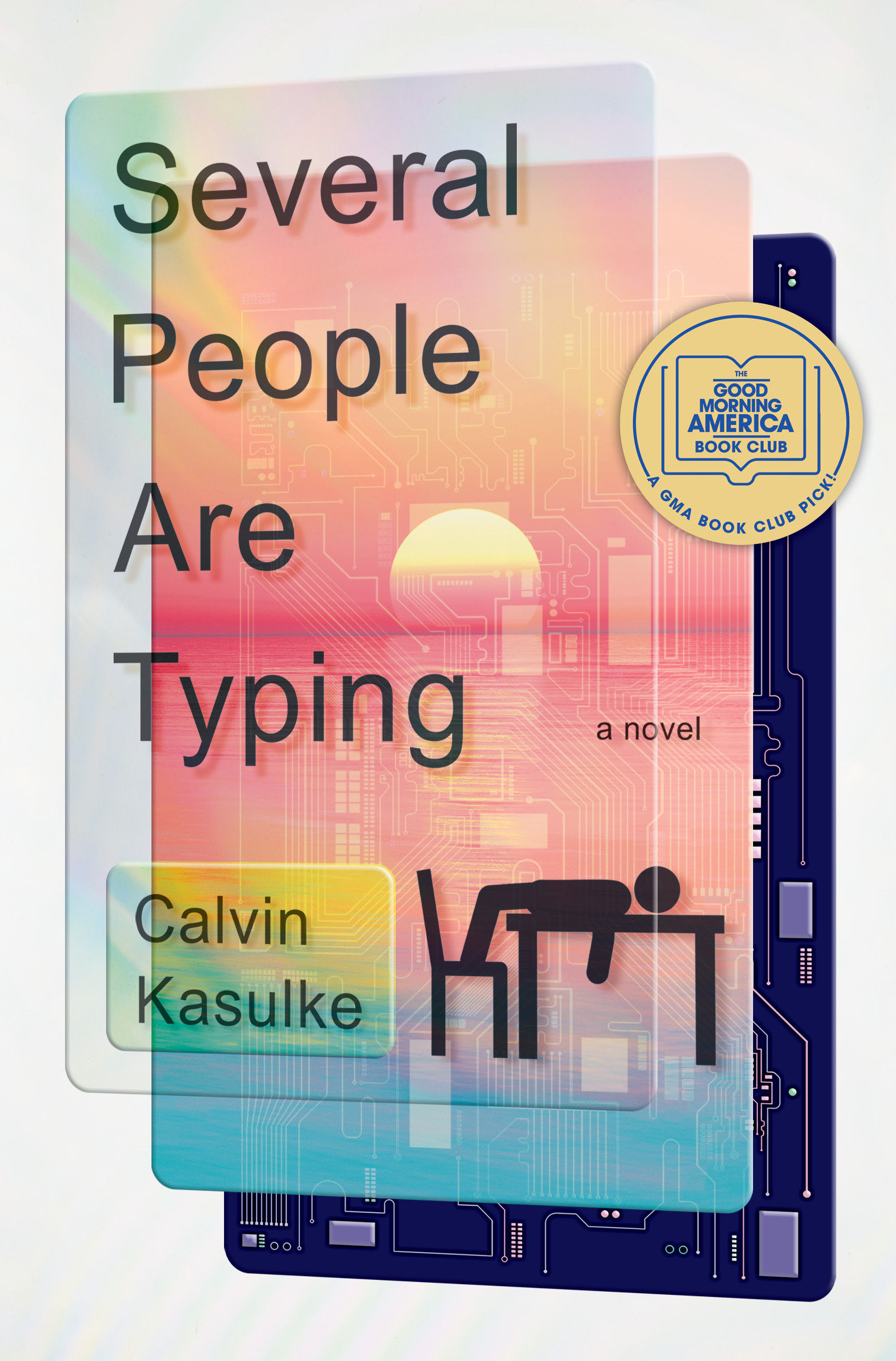 Several People Are Typing A Novel