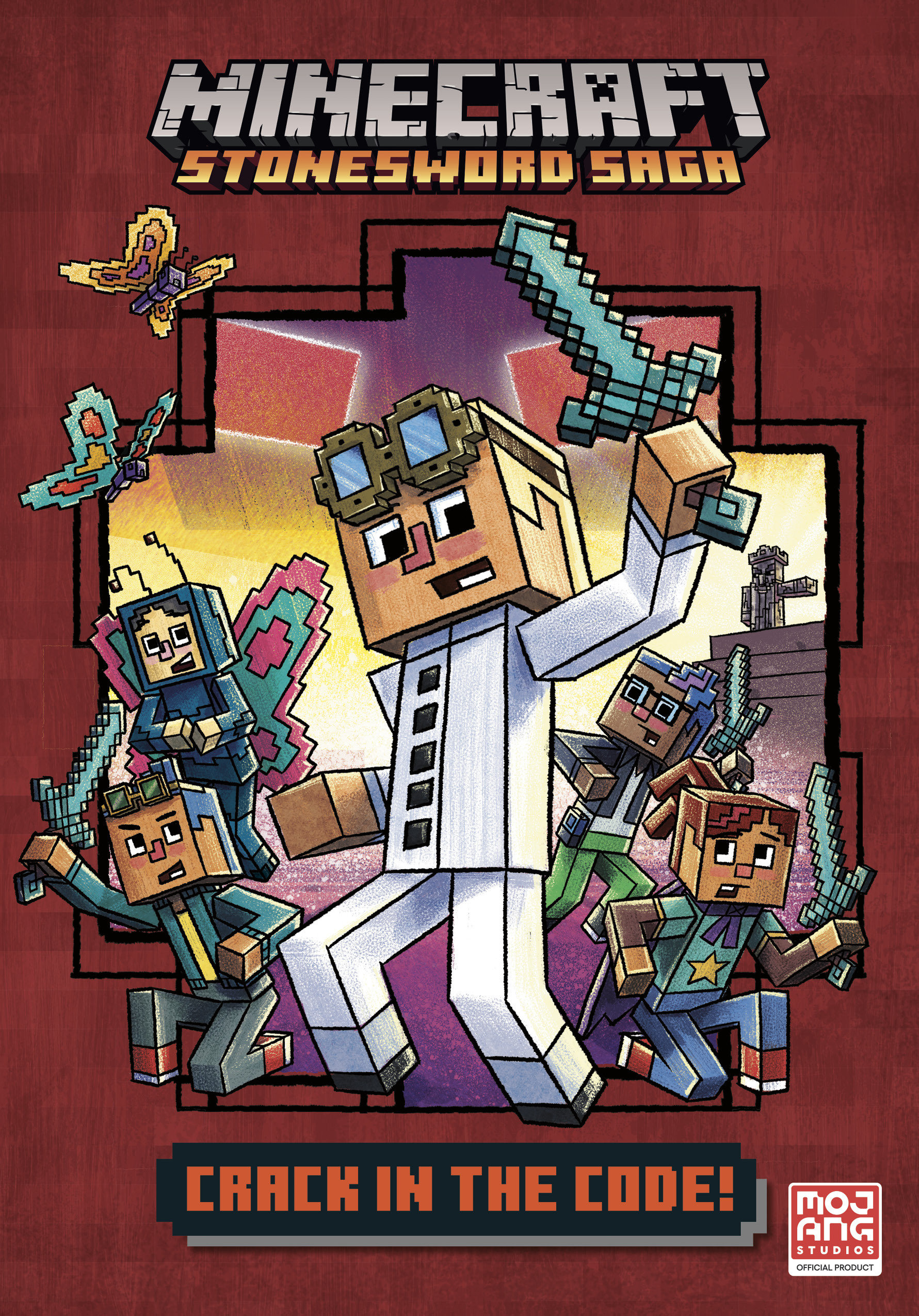 Crack in the Code! (Minecraft Stonesword Saga #1)