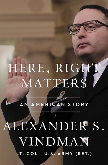 Cover Image of Here, Right Matters