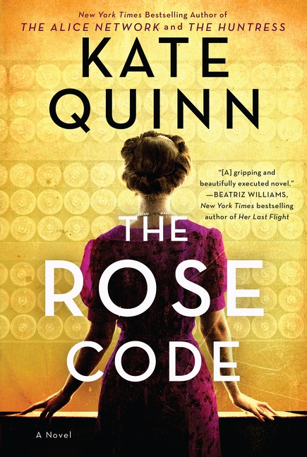 Cover Image of The Rose Code