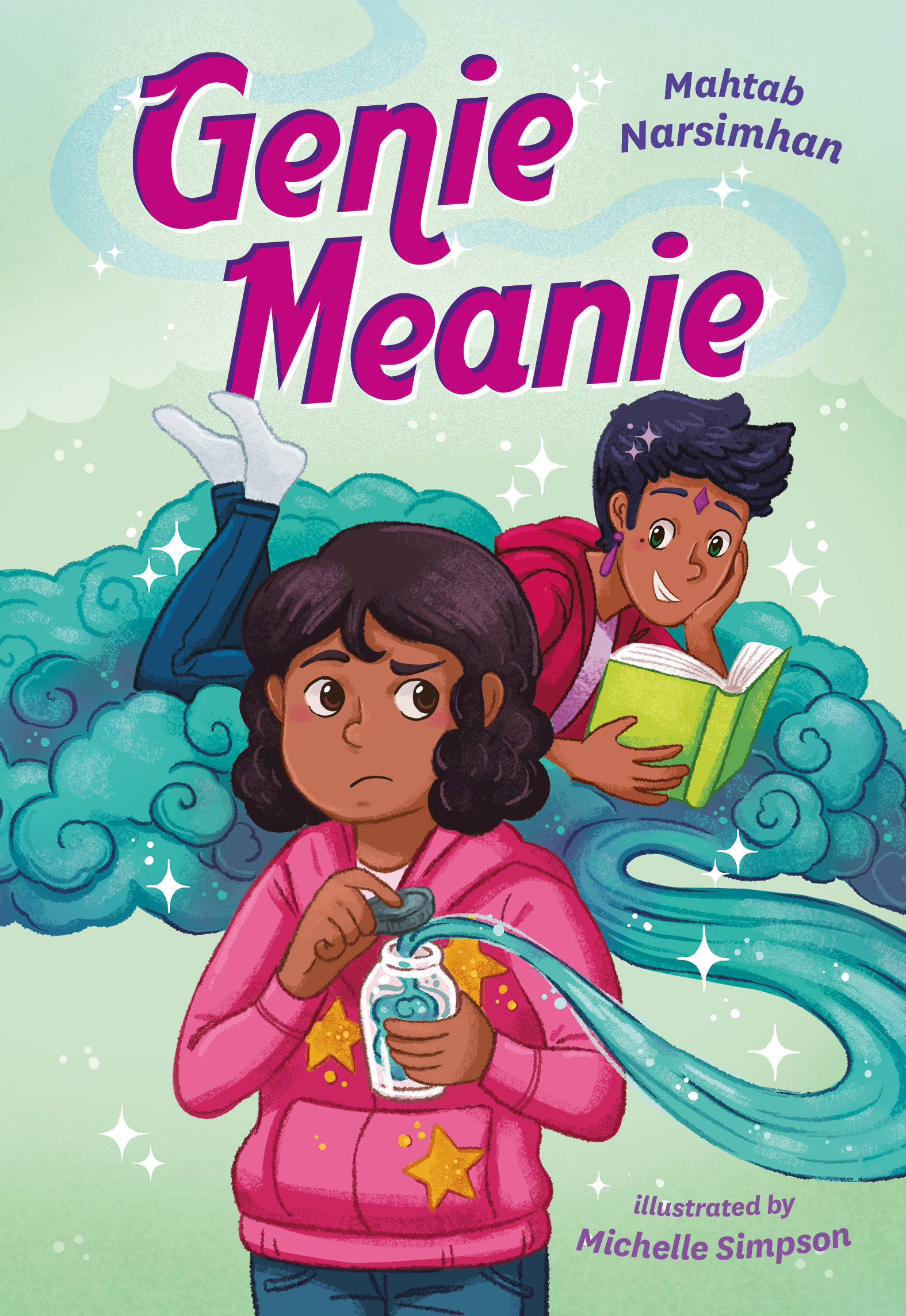 Cover Image of Genie Meanie